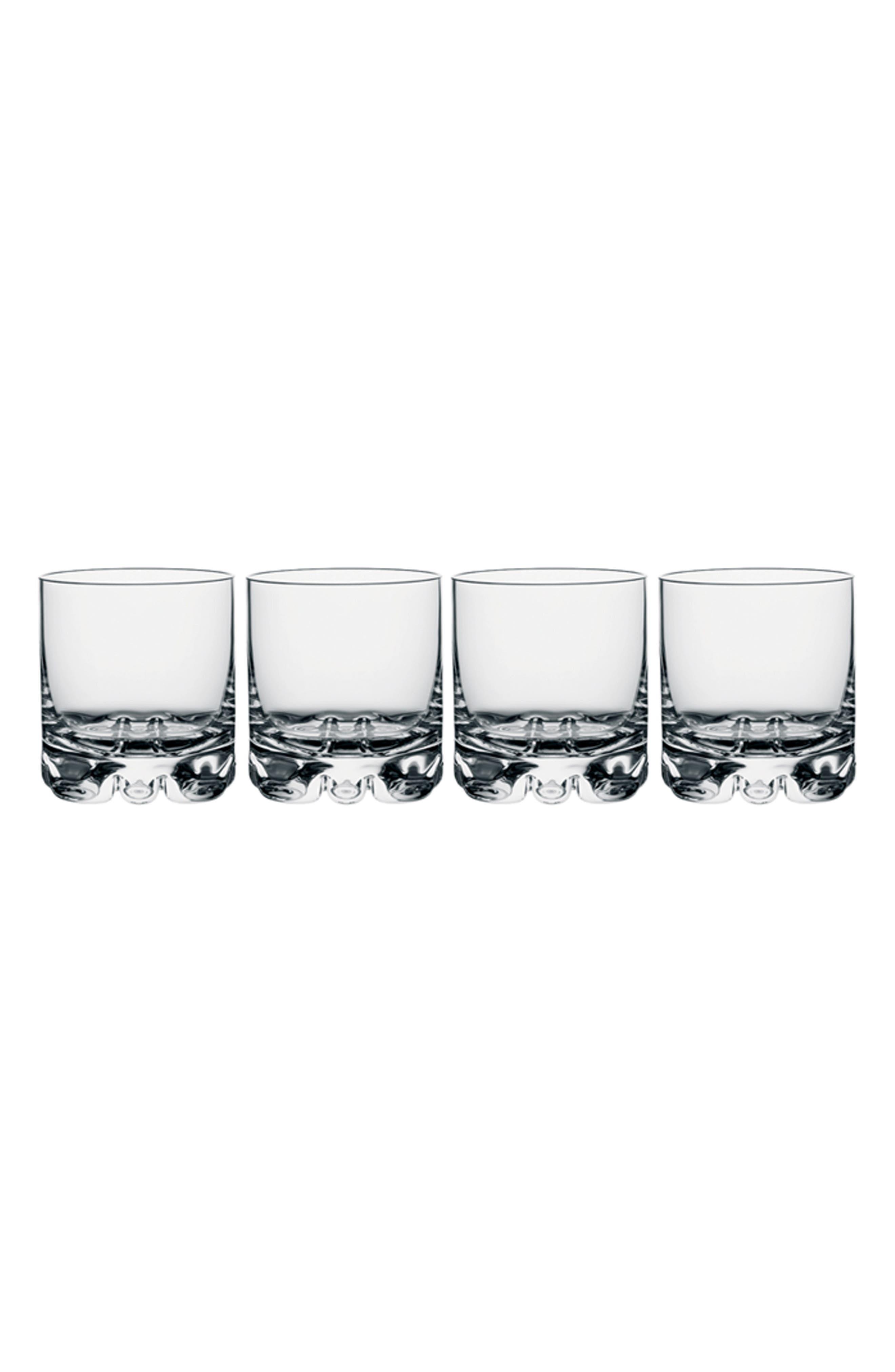 Erik Set of 4 Double Old Fashioned Glasses,                             Main thumbnail 1, color,                             100