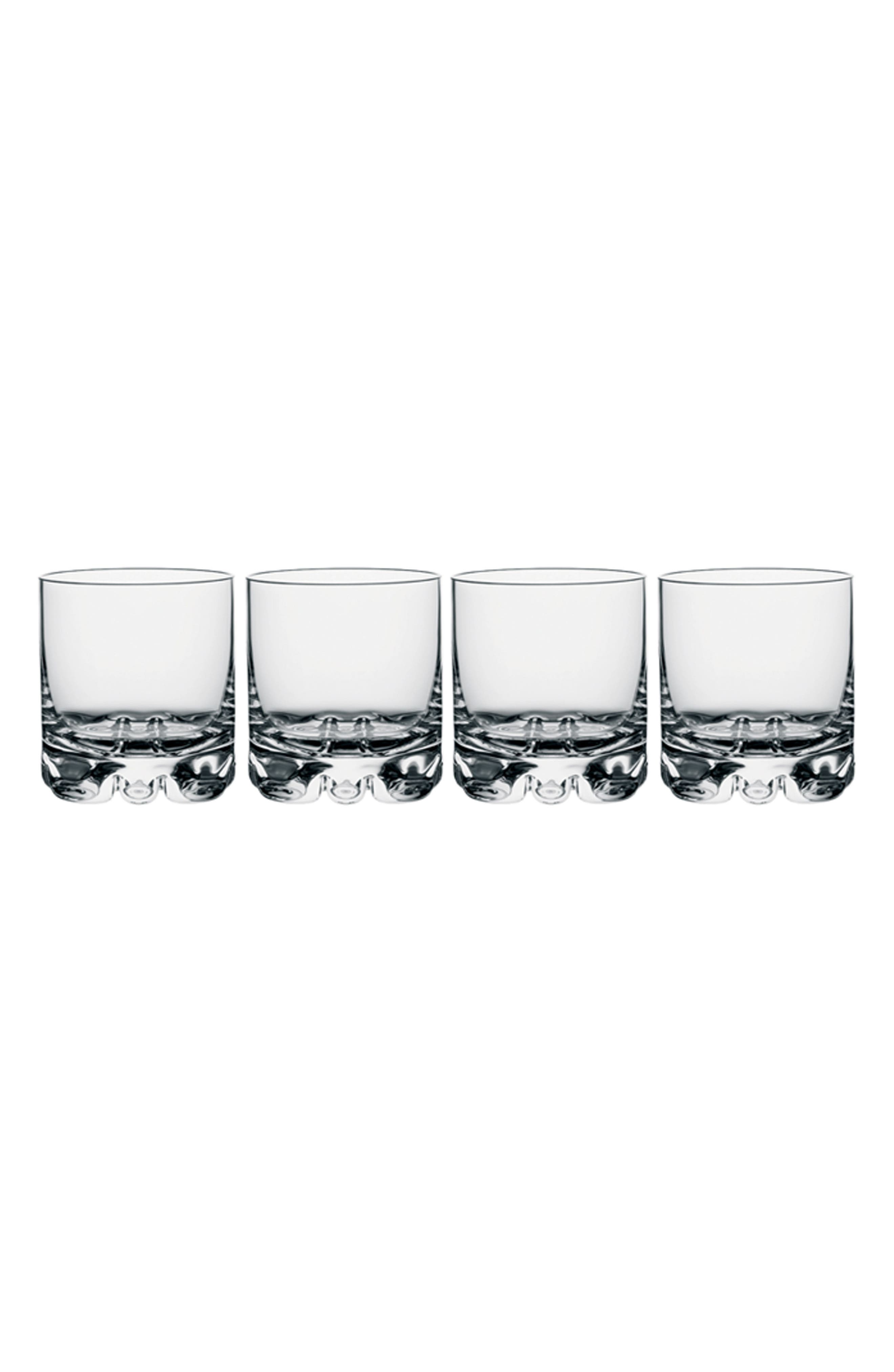 Erik Set of 4 Double Old Fashioned Glasses,                         Main,                         color, 100