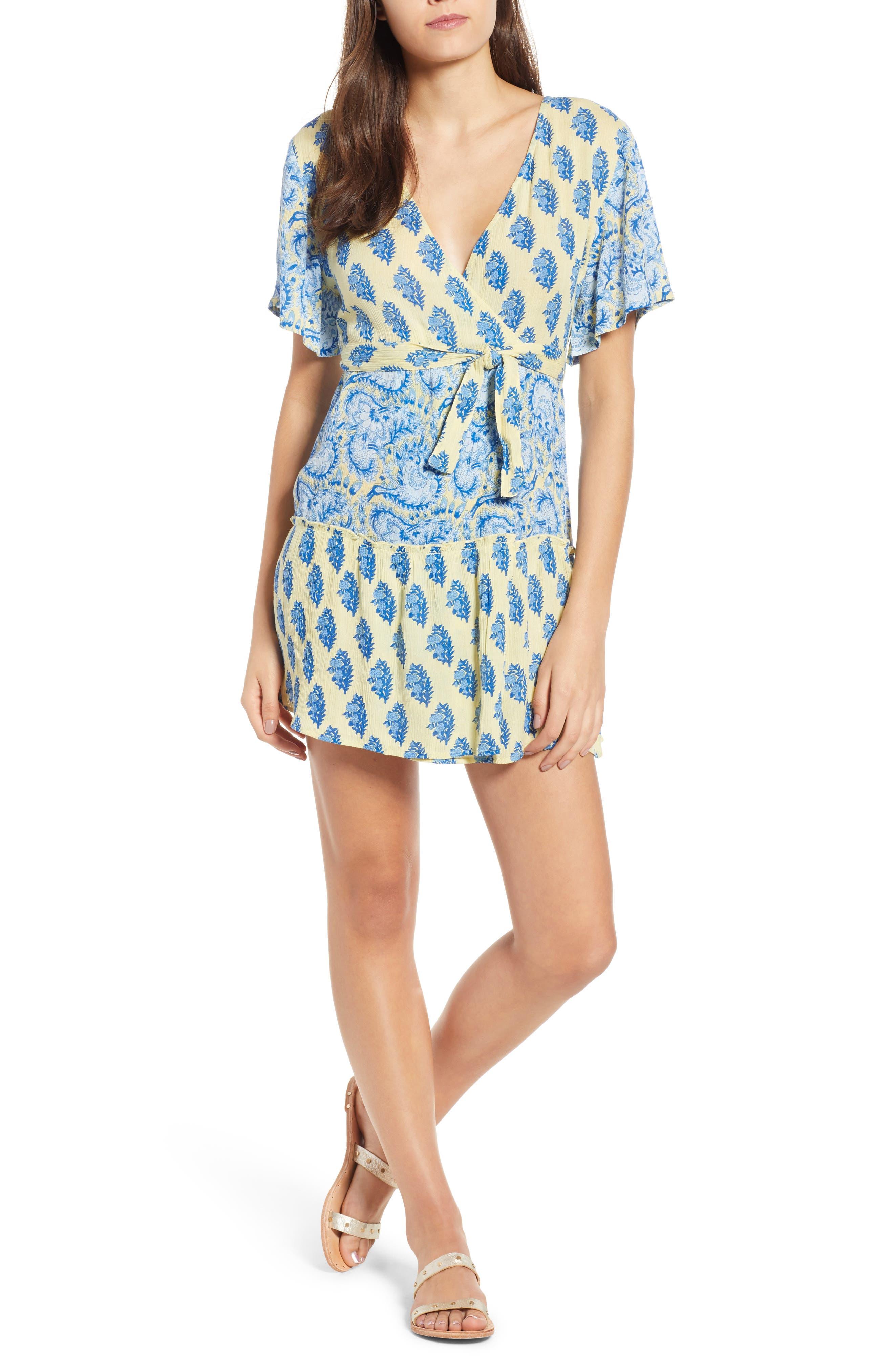 Sunlit Daze Minidress,                         Main,                         color, 700