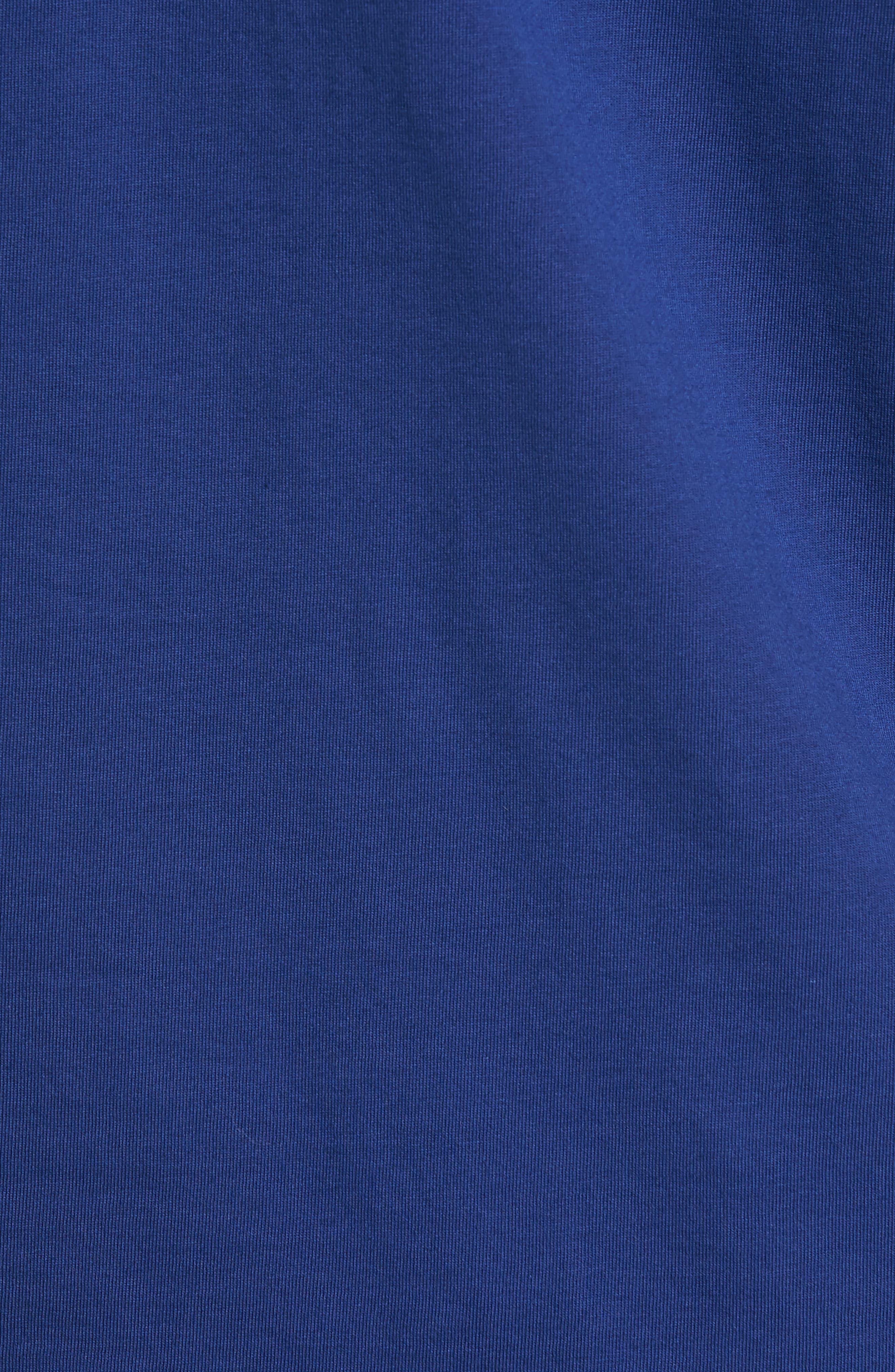Extra Trim Fit Cotton Ringer T-Shirt,                             Alternate thumbnail 5, color,                             405