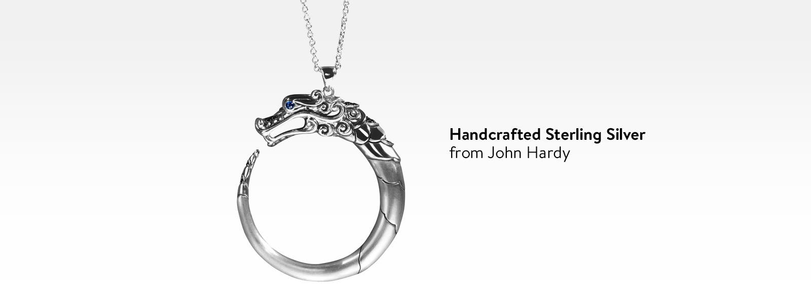 Handcrafted sterling silver jewelry from John Hardy.