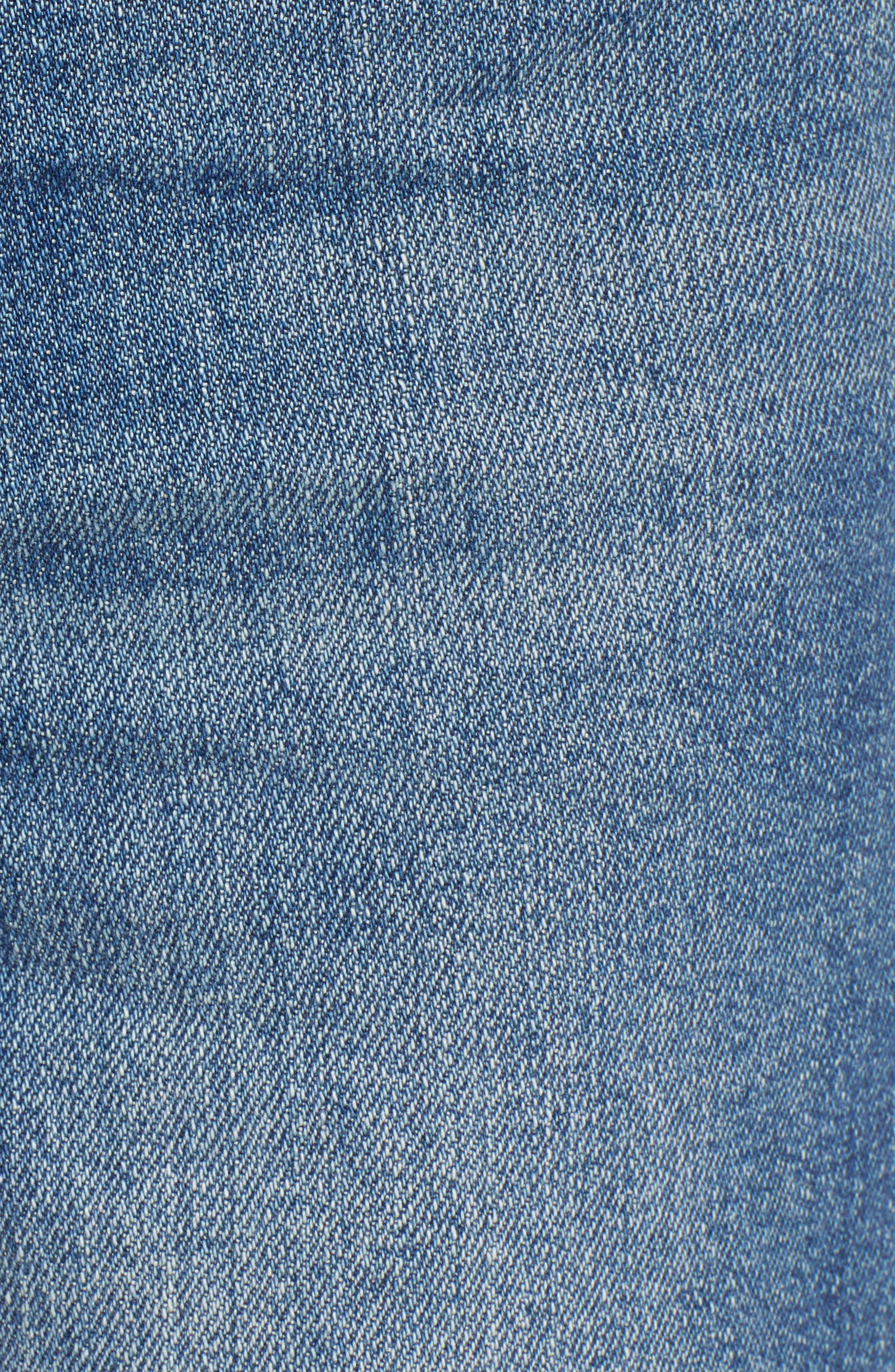 SWAT FAME,                             STS Blue Alicia Crop Mom Jeans,                             Alternate thumbnail 6, color,                             LEMONWOOD