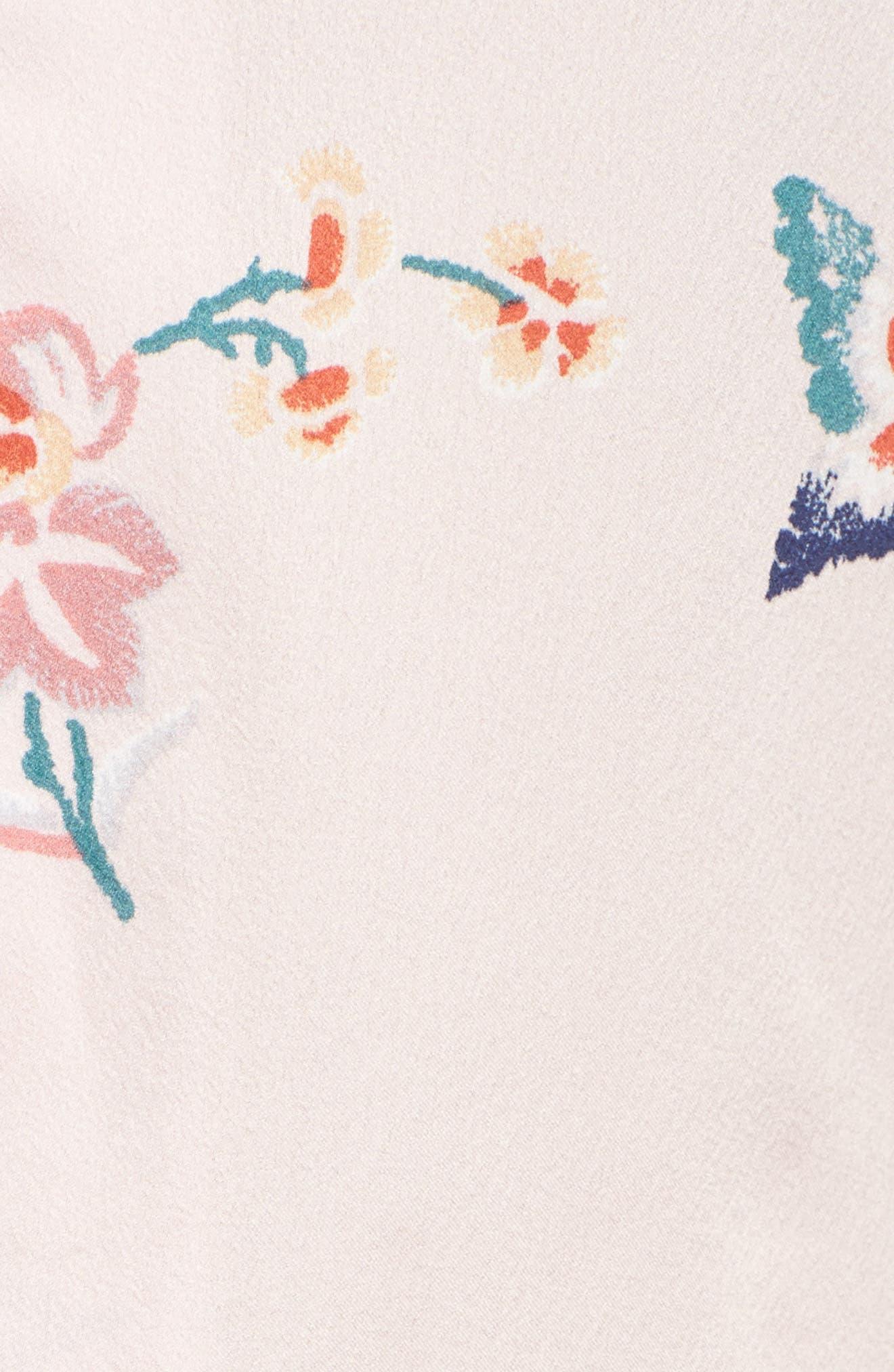 Papillon Print Short Pajamas,                             Alternate thumbnail 14, color,