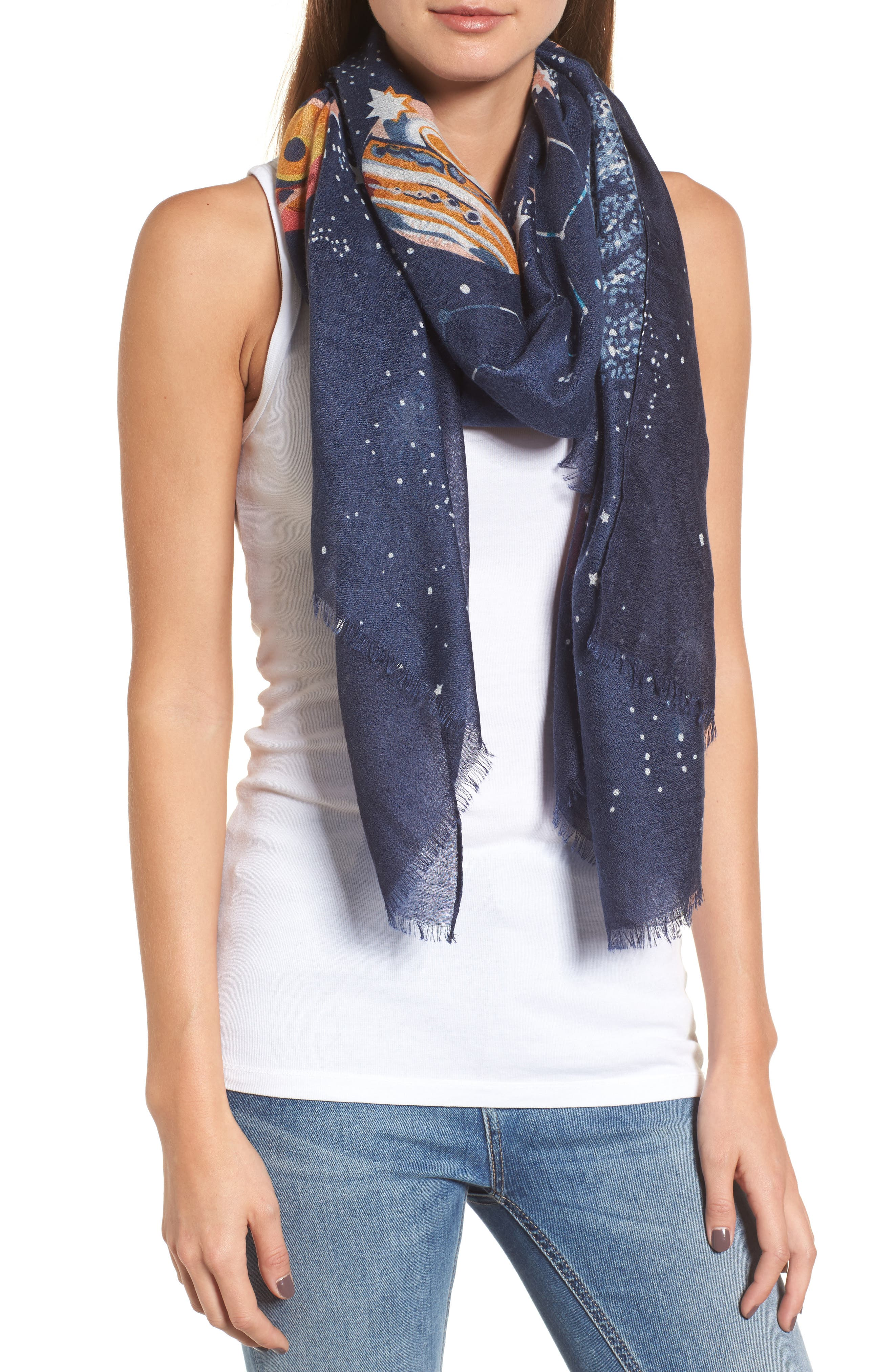 Infinity & Beyond Scarf,                         Main,                         color, 410