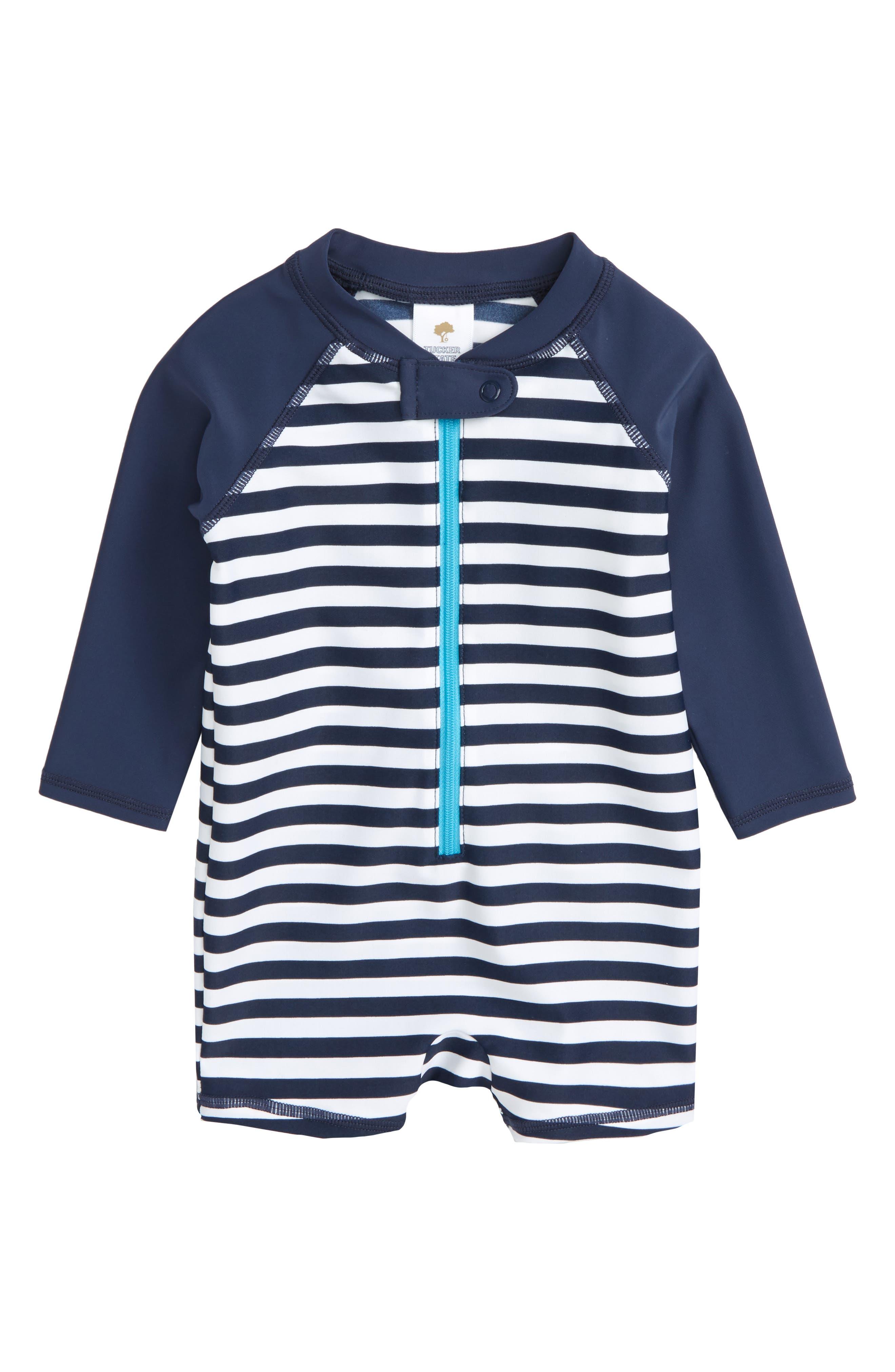 One-Piece Rashguard Swimsuit,                         Main,                         color, 410