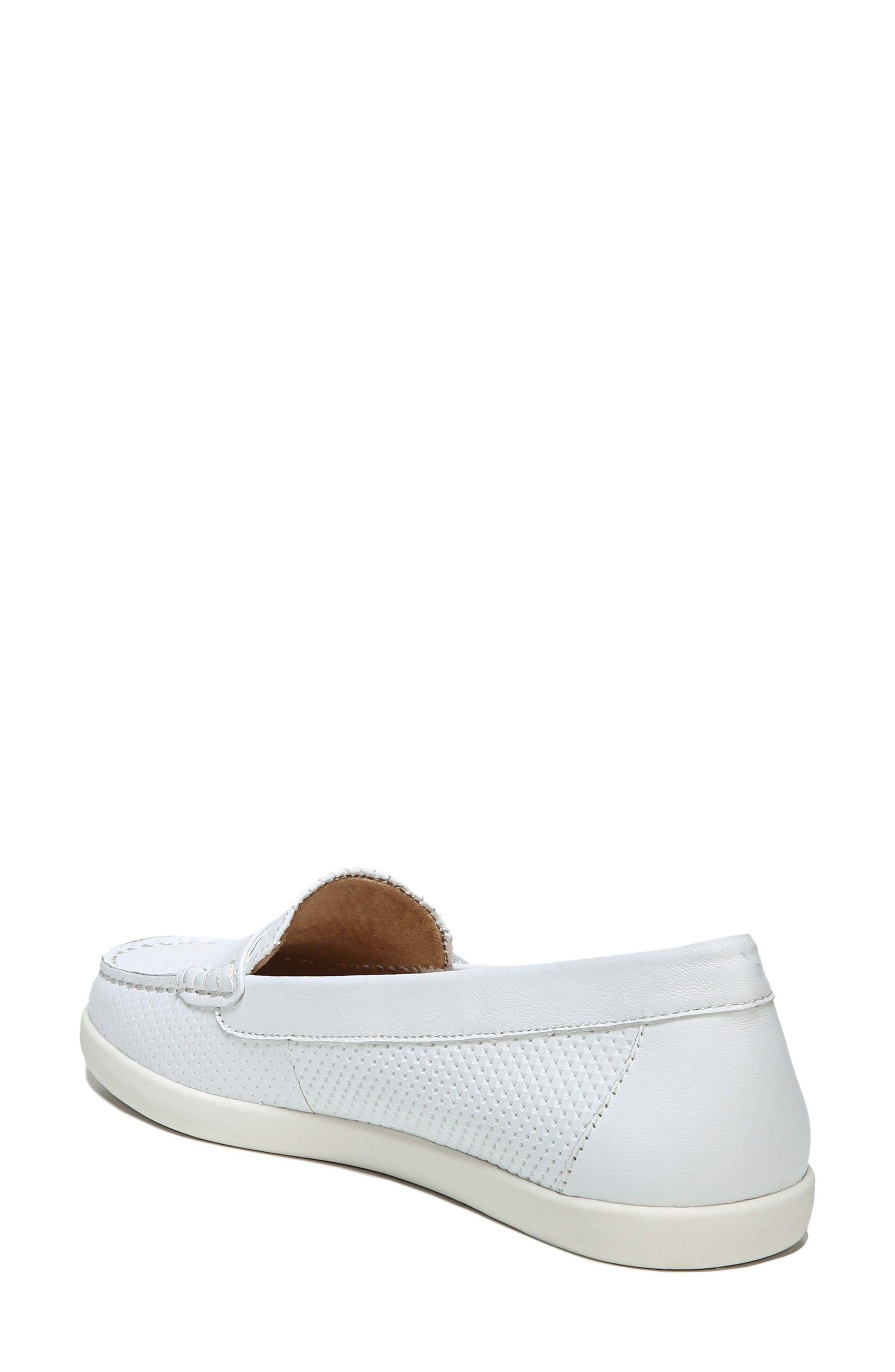 Gwen Slip-On Sneaker,                             Alternate thumbnail 2, color,                             WHITE LEATHER