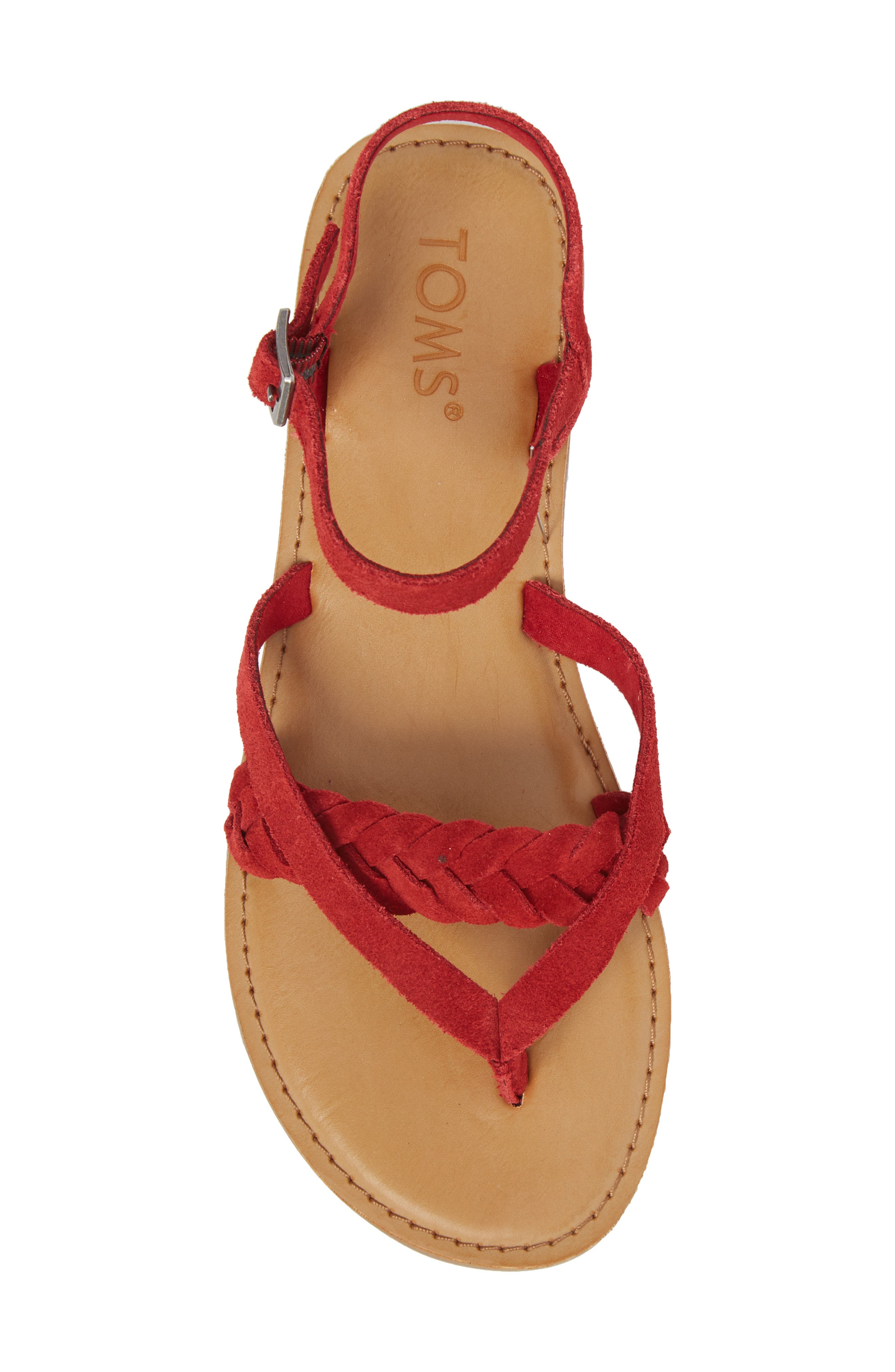 'Lexie' Sandal,                             Alternate thumbnail 5, color,                             601