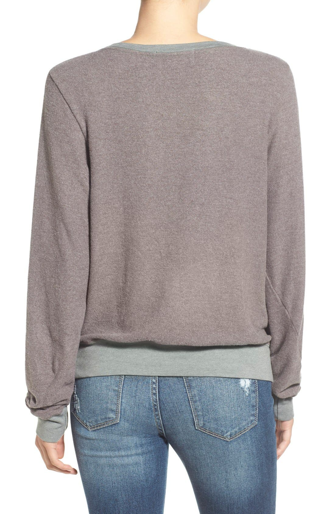 'Baggy Beach Jumper' Pullover,                             Alternate thumbnail 145, color,
