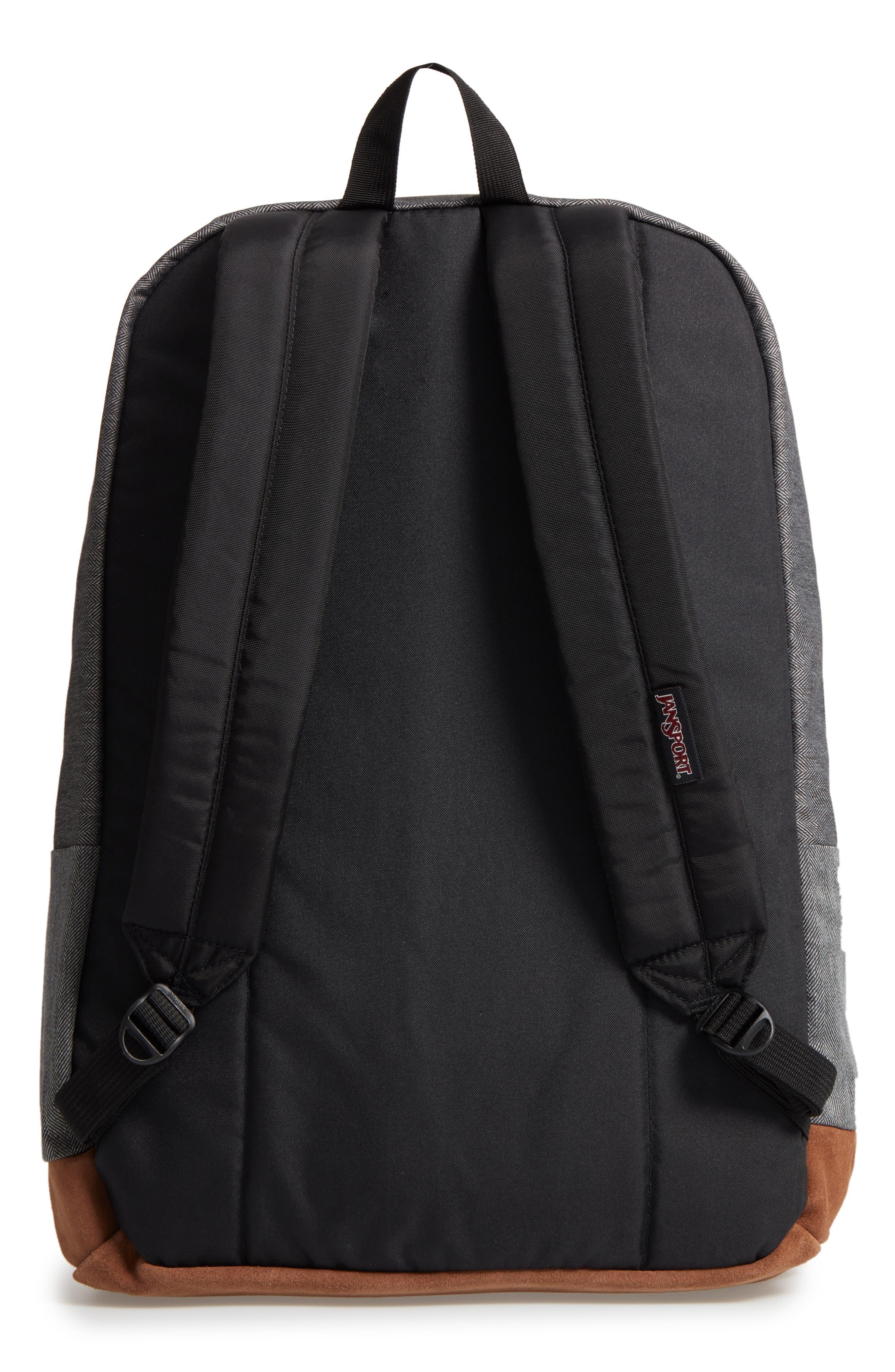 'Right Pack' Backpack,                             Alternate thumbnail 3, color,                             BLACK/ WHITE