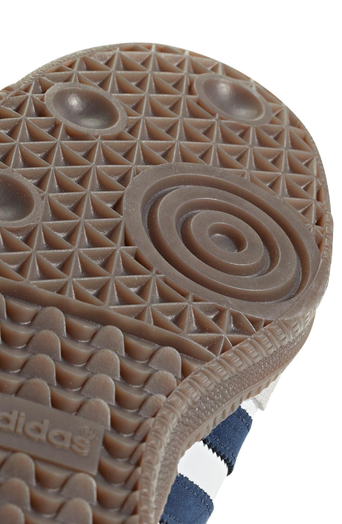 Samba OG Sneaker,                             Alternate thumbnail 10, color,                             WHITE/ NAVY / CRYSTAL WHITE