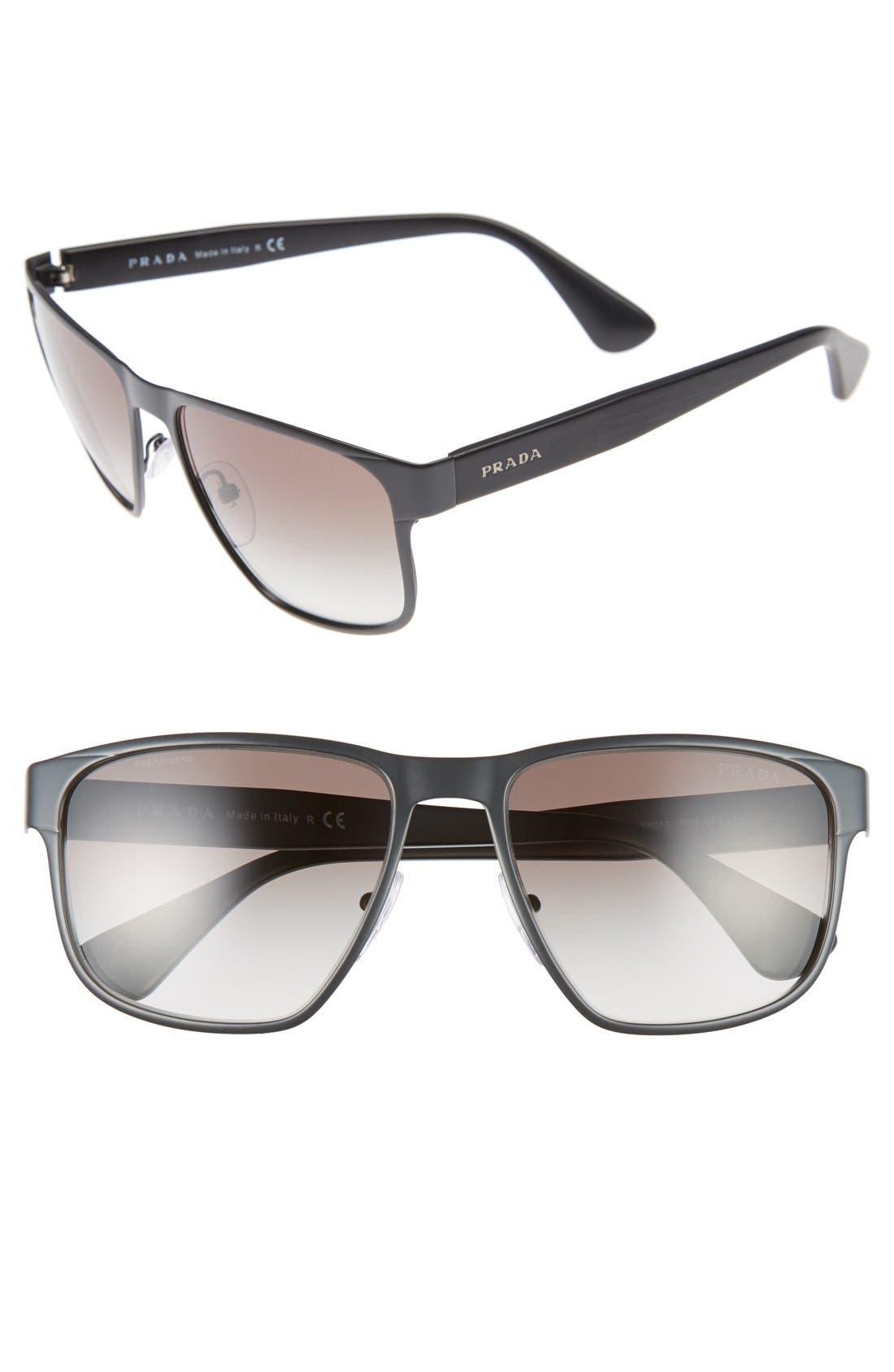 55mm Sunglasses,                             Main thumbnail 1, color,                             022
