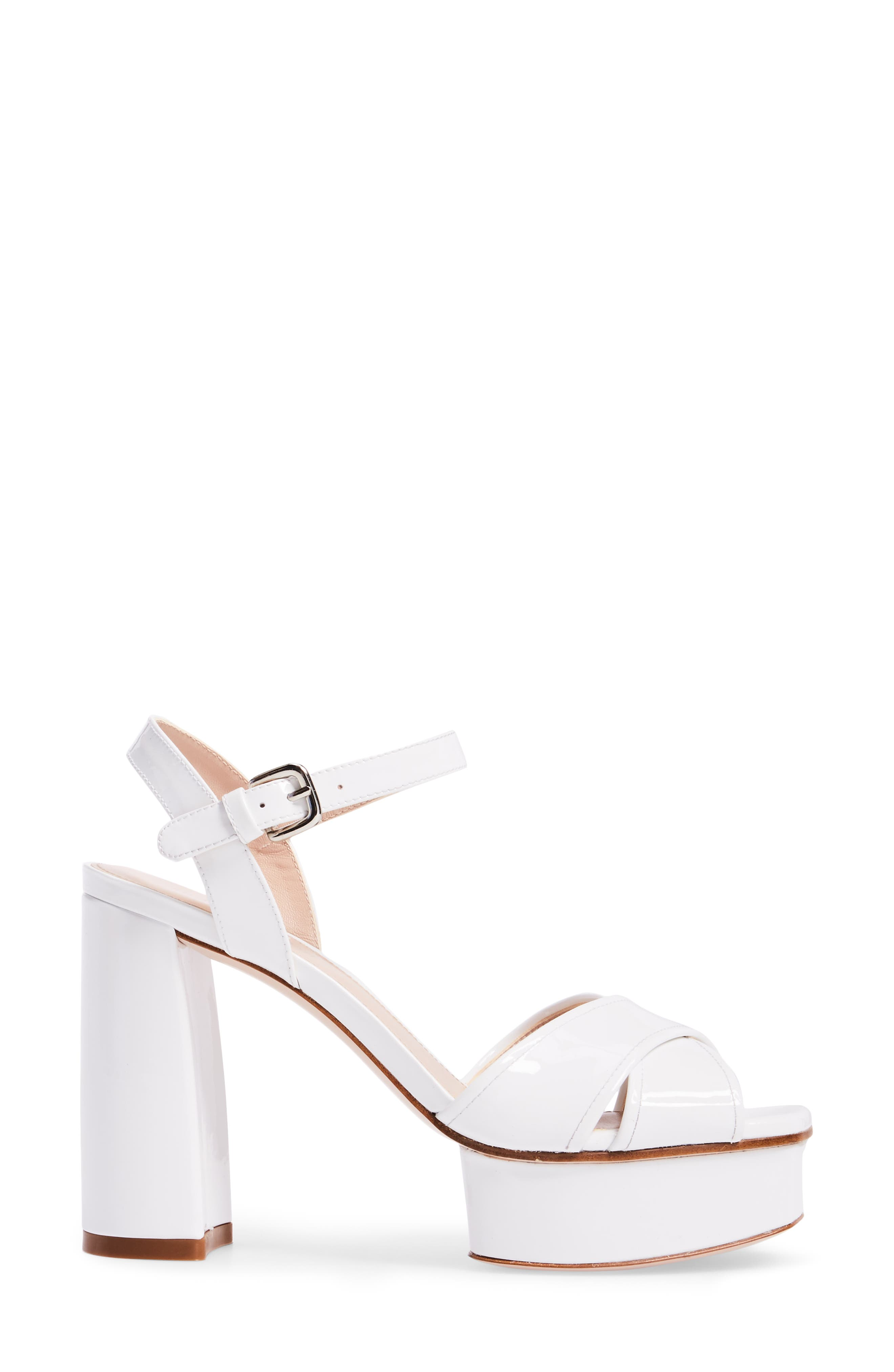 Exposed Platform Sandal,                             Alternate thumbnail 12, color,