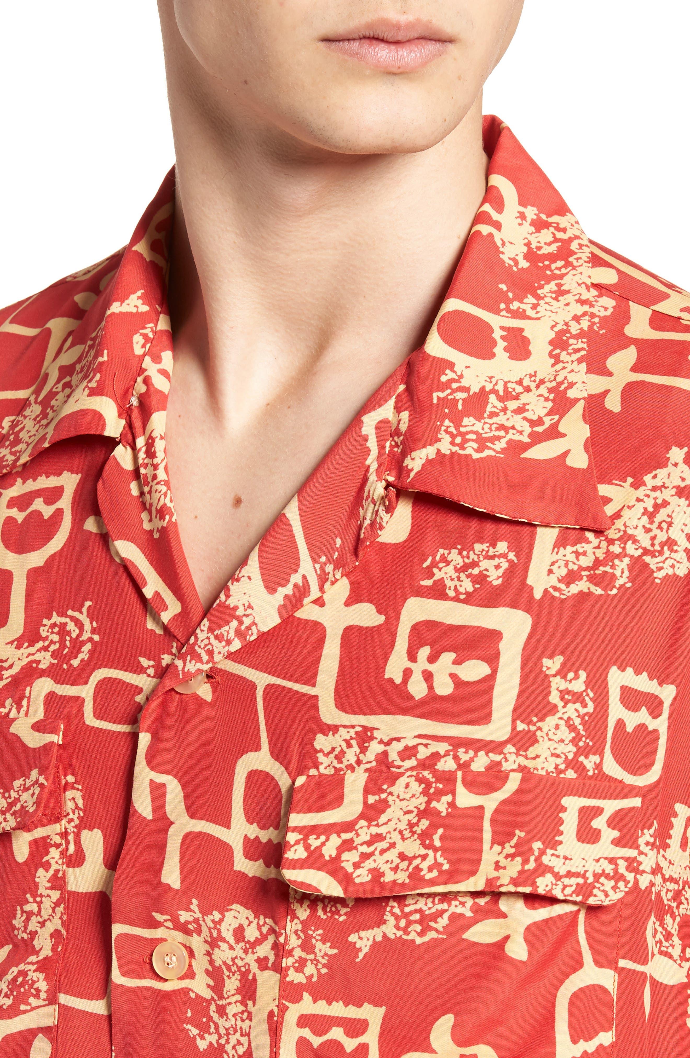 1940's Hawaiian Shirt,                             Alternate thumbnail 4, color,