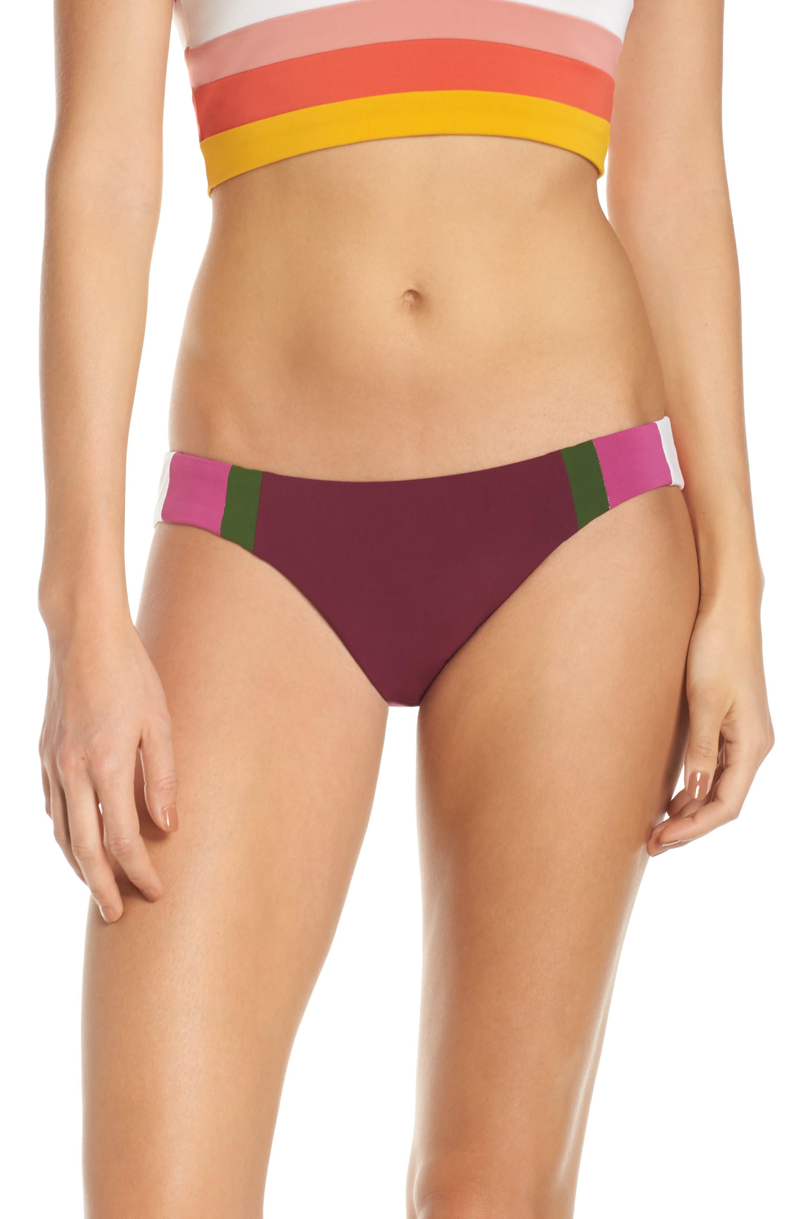 Robin Piccone Suzie Hipster Bikini Bottoms, Ivory