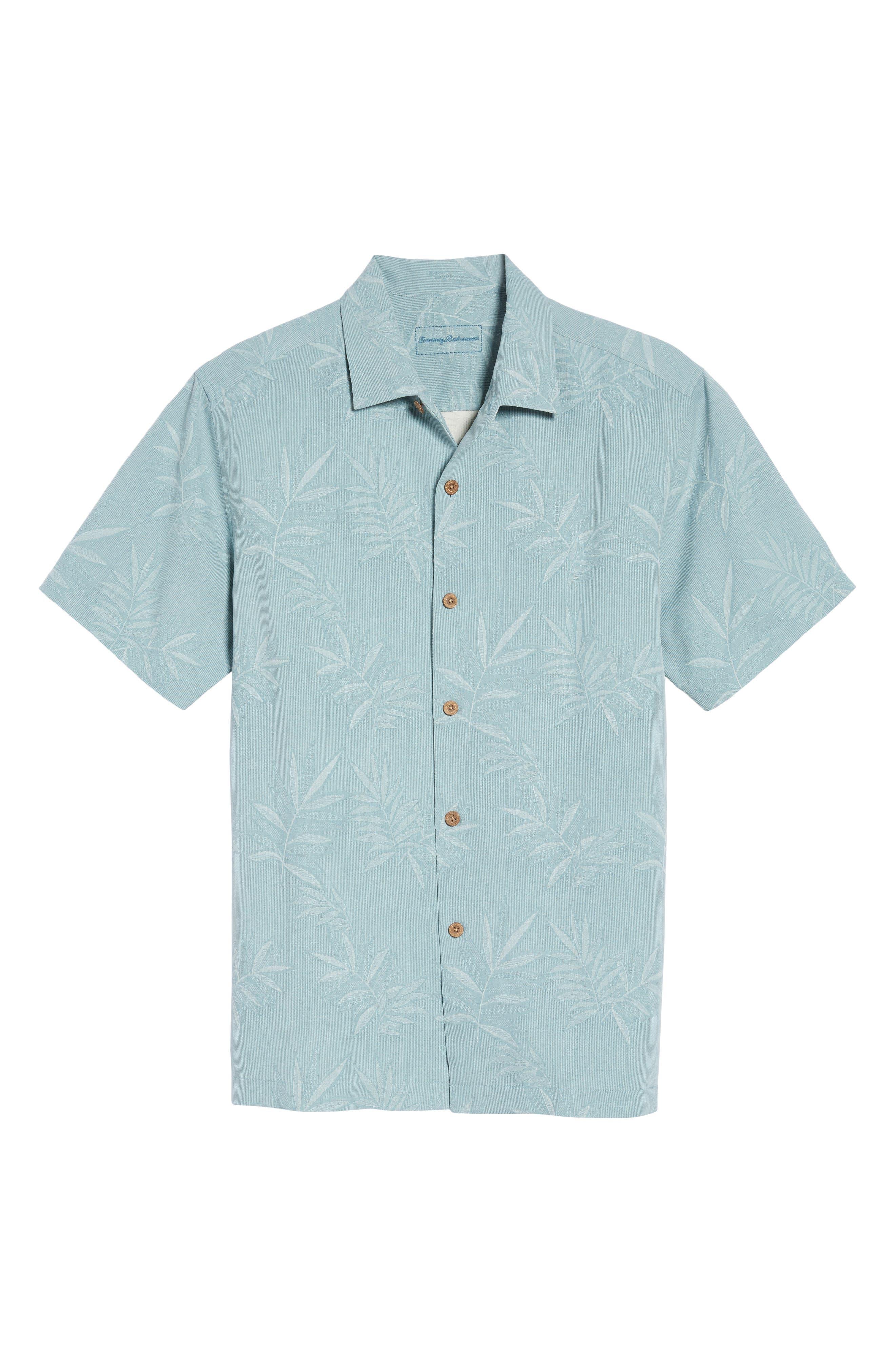 Luau Floral Silk Shirt,                             Alternate thumbnail 6, color,                             301