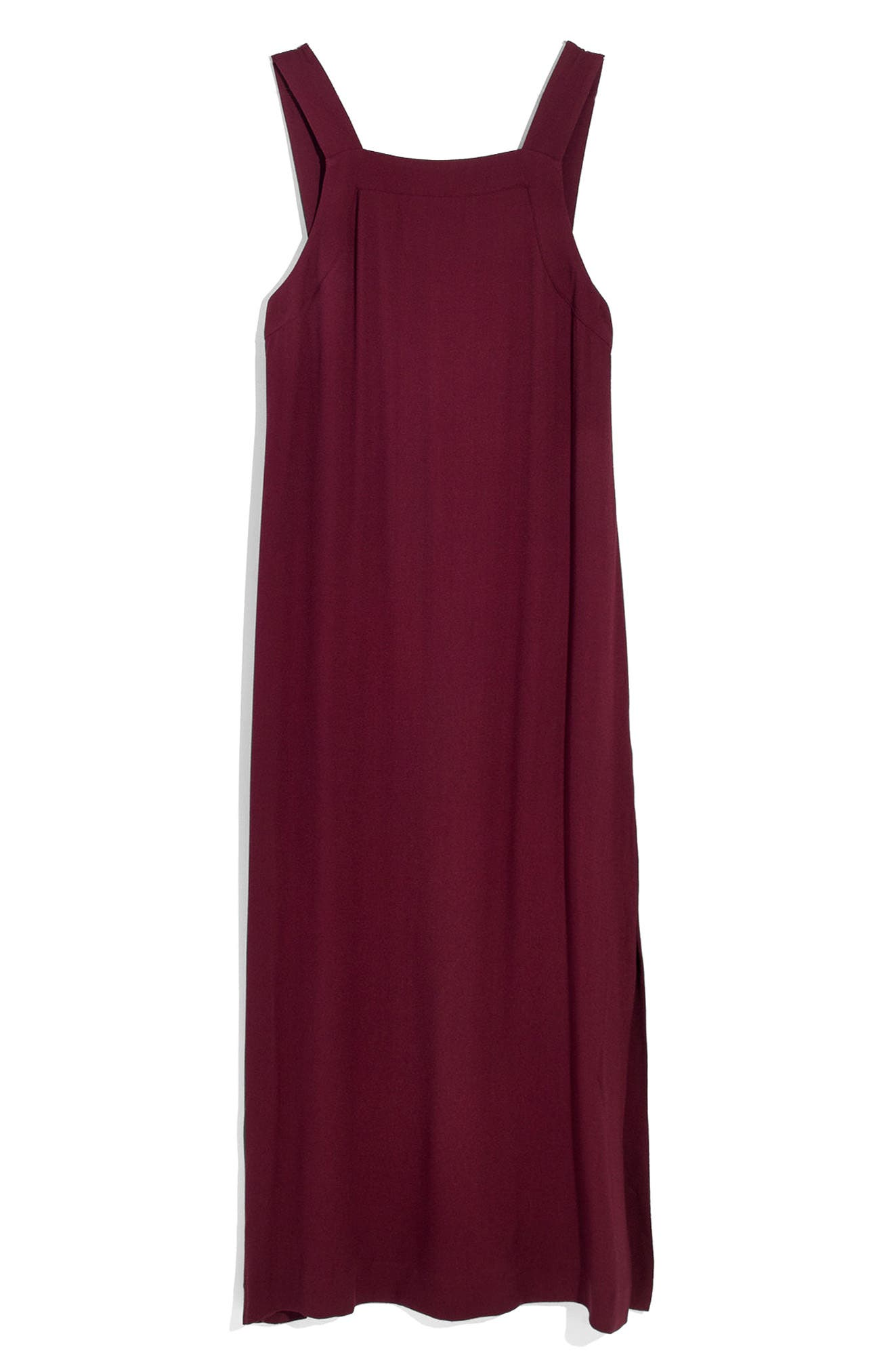 Apron Tie Back Dress,                             Alternate thumbnail 3, color,