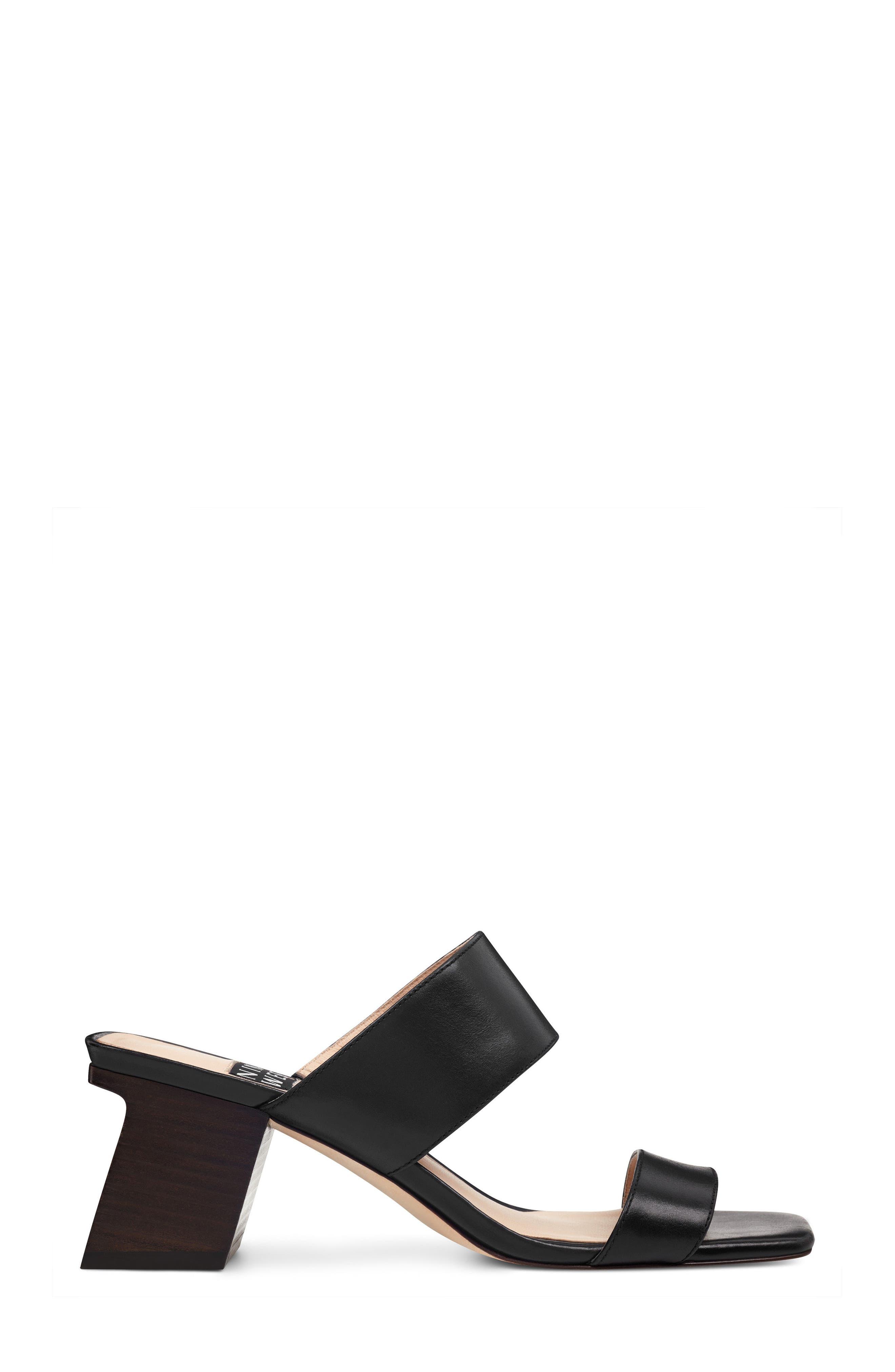 Churen - 40th Anniversary Capsule Collection Sandal,                             Alternate thumbnail 3, color,                             BLACK LEATHER
