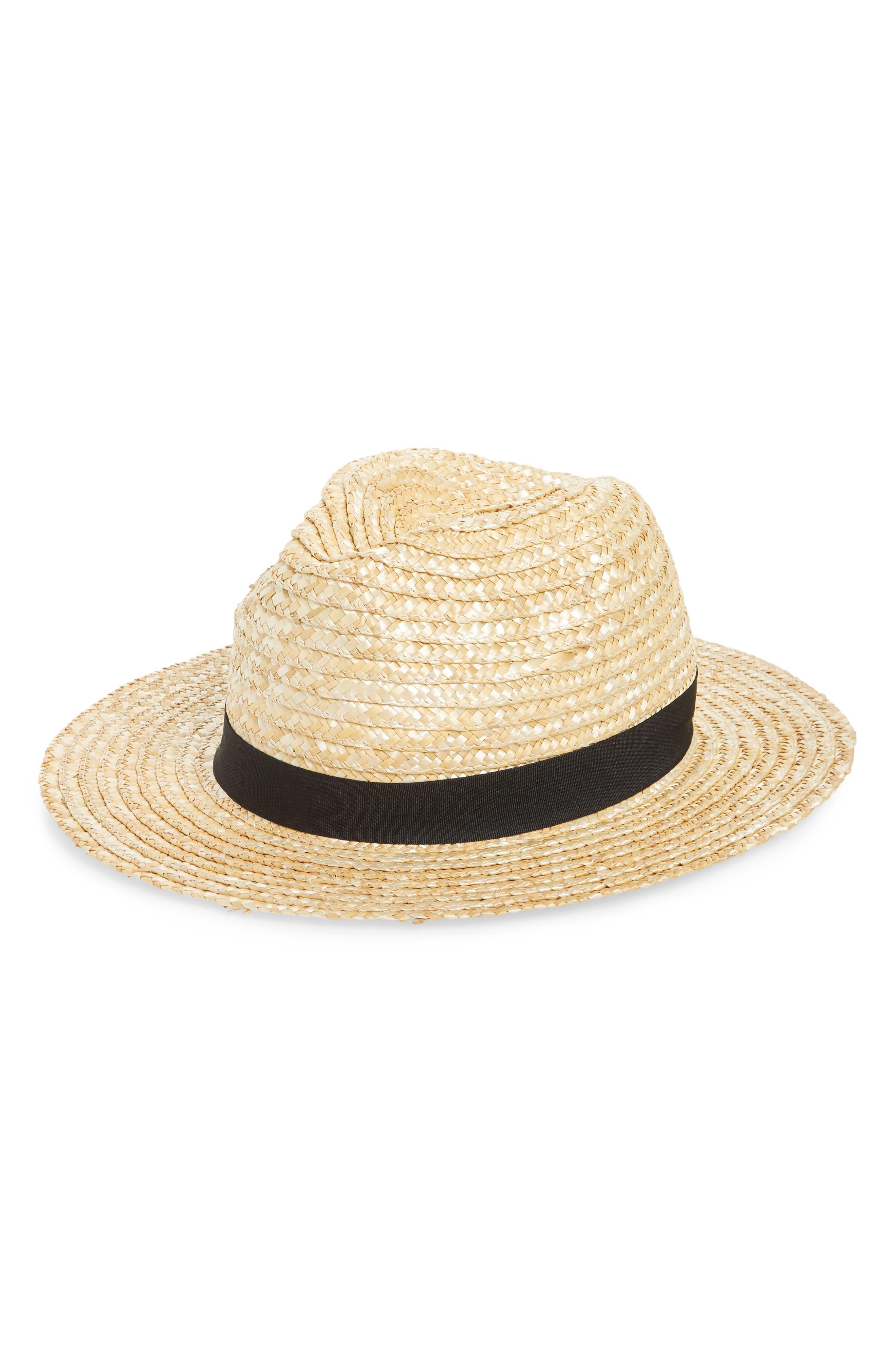 Braided Panama Hat,                             Main thumbnail 1, color,                             250