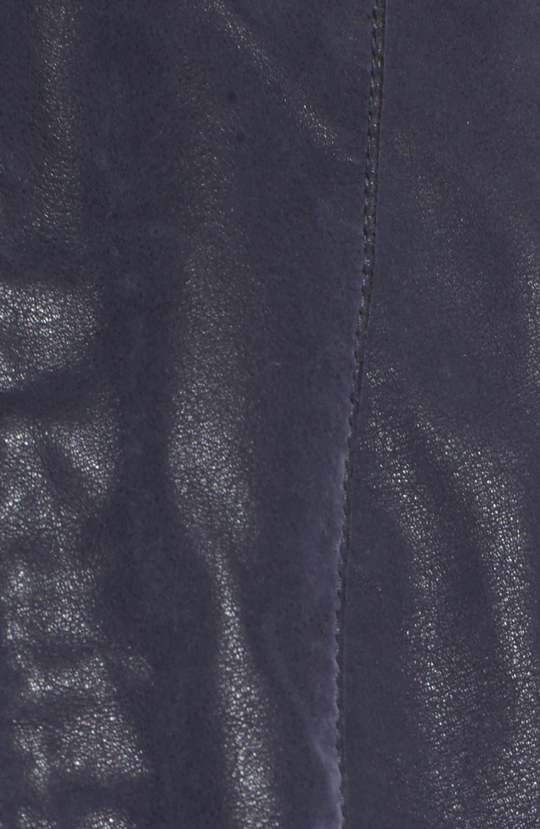 Faux Leather Jacket,                             Alternate thumbnail 36, color,