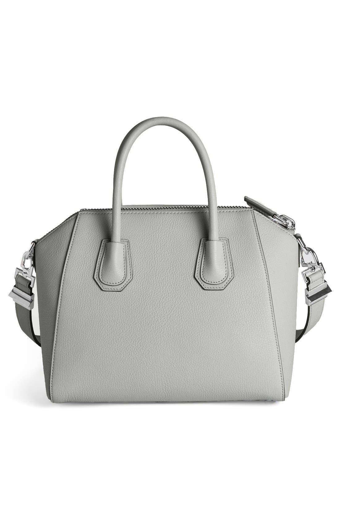 'Small Antigona' Sugar Leather Satchel,                             Alternate thumbnail 9, color,