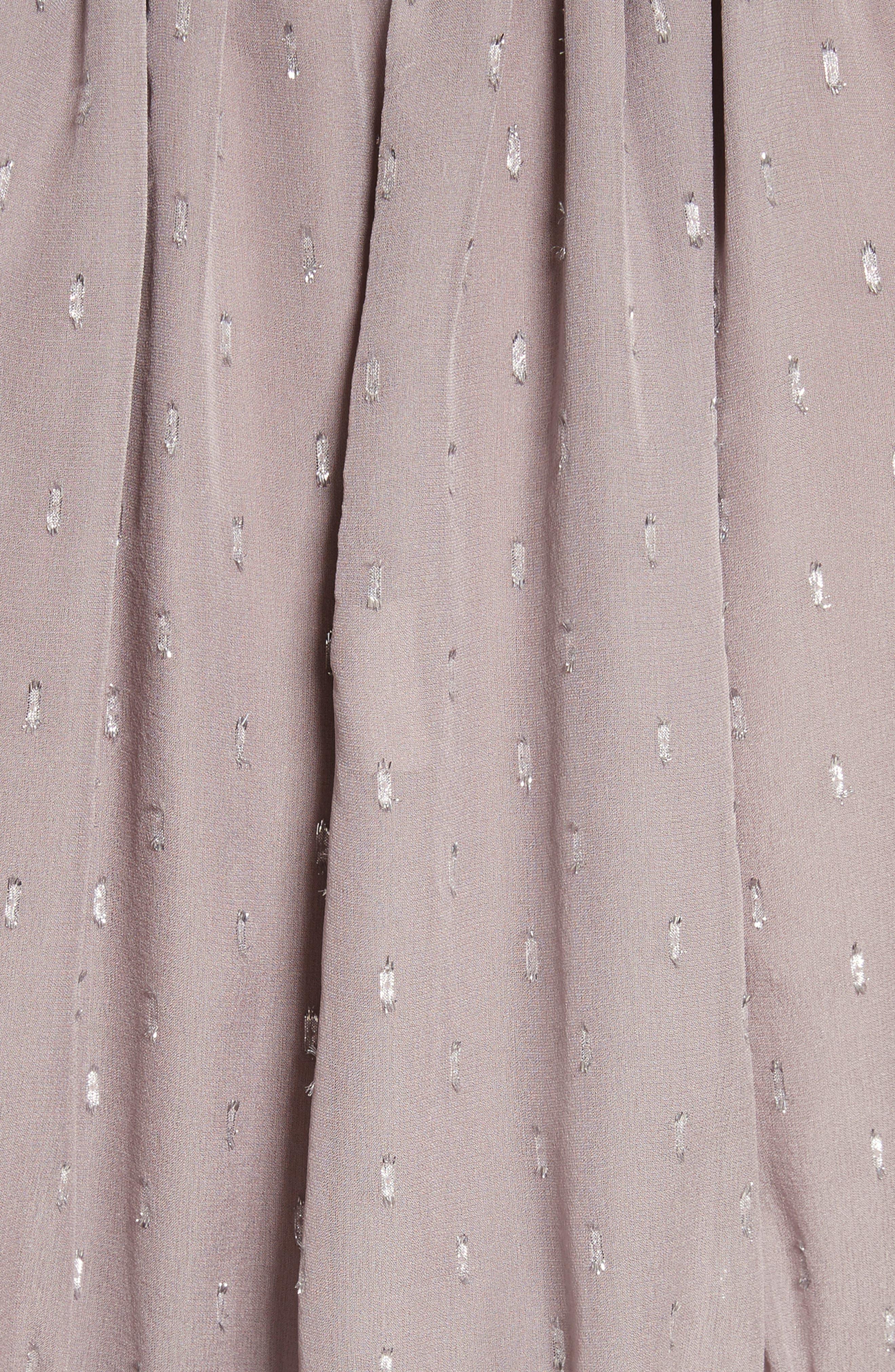 Shawnette Metallic Silk Top,                             Alternate thumbnail 10, color,