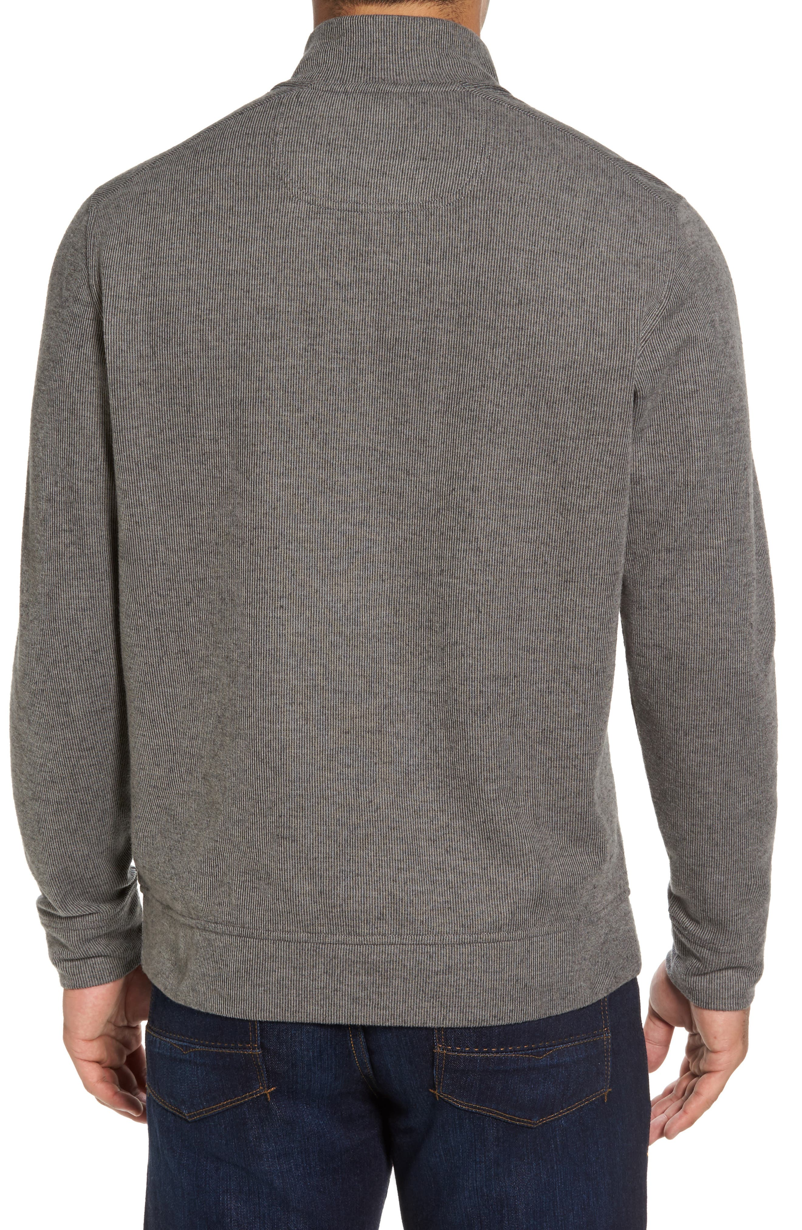 Cold Springs Snap Mock Neck Sweater,                             Alternate thumbnail 2, color,                             001