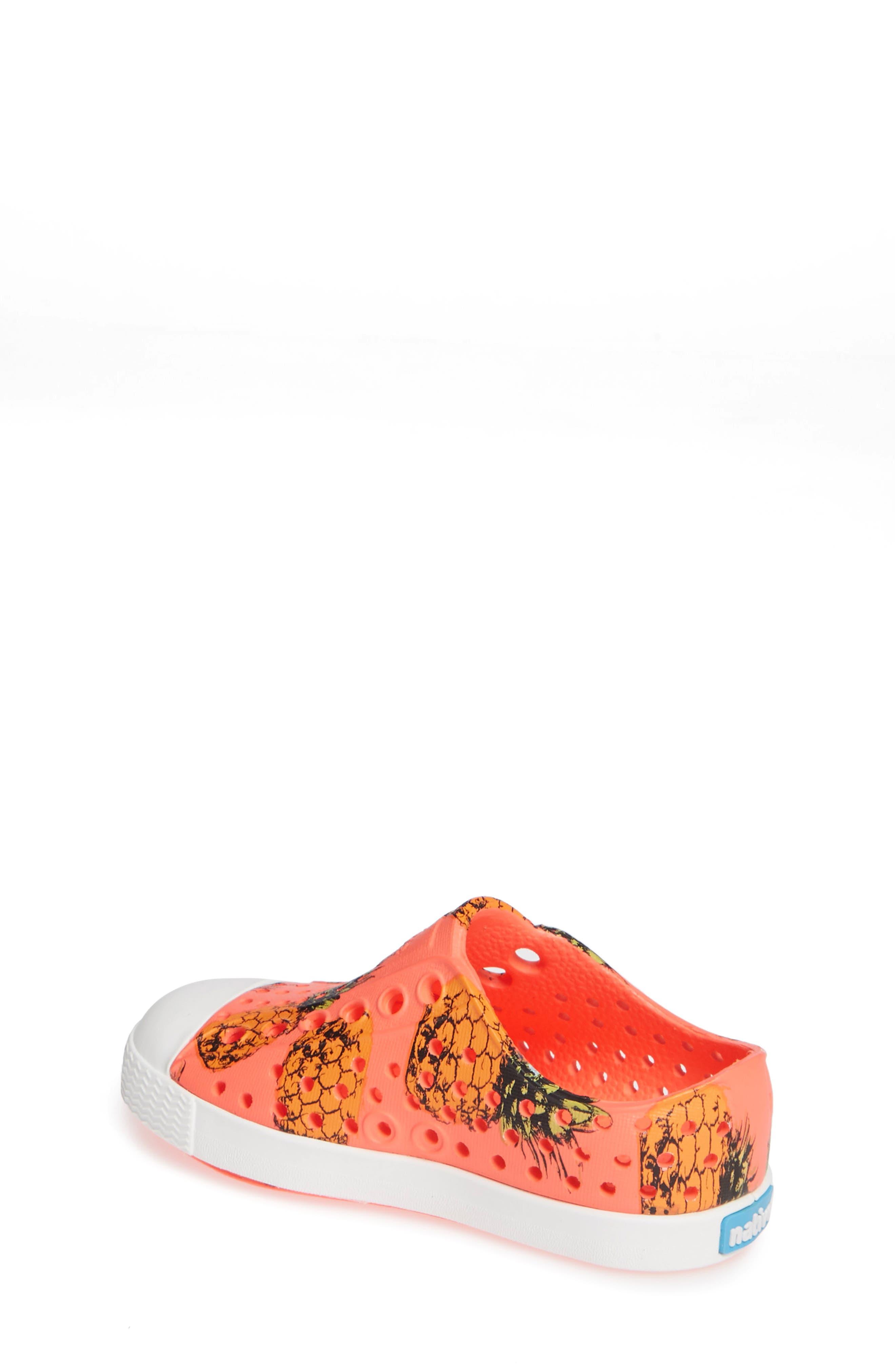 Jefferson Pineapple Print Water Friendly Sneaker,                             Alternate thumbnail 2, color,                             POPSTAR PINK/ WHITE PINEAPPLES