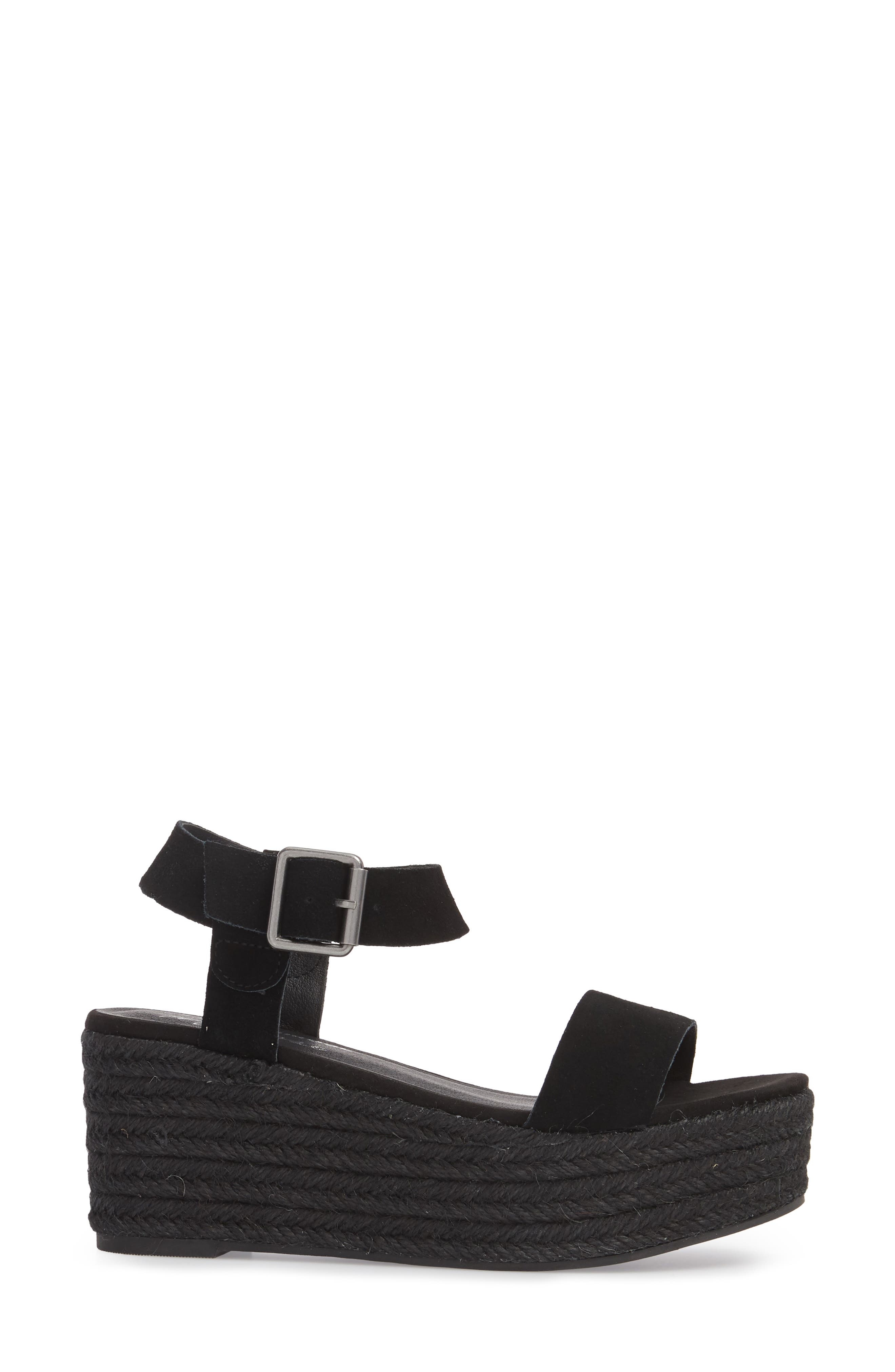 Amuse Society x Matisse Siena Wedge Sandal,                             Alternate thumbnail 3, color,                             017