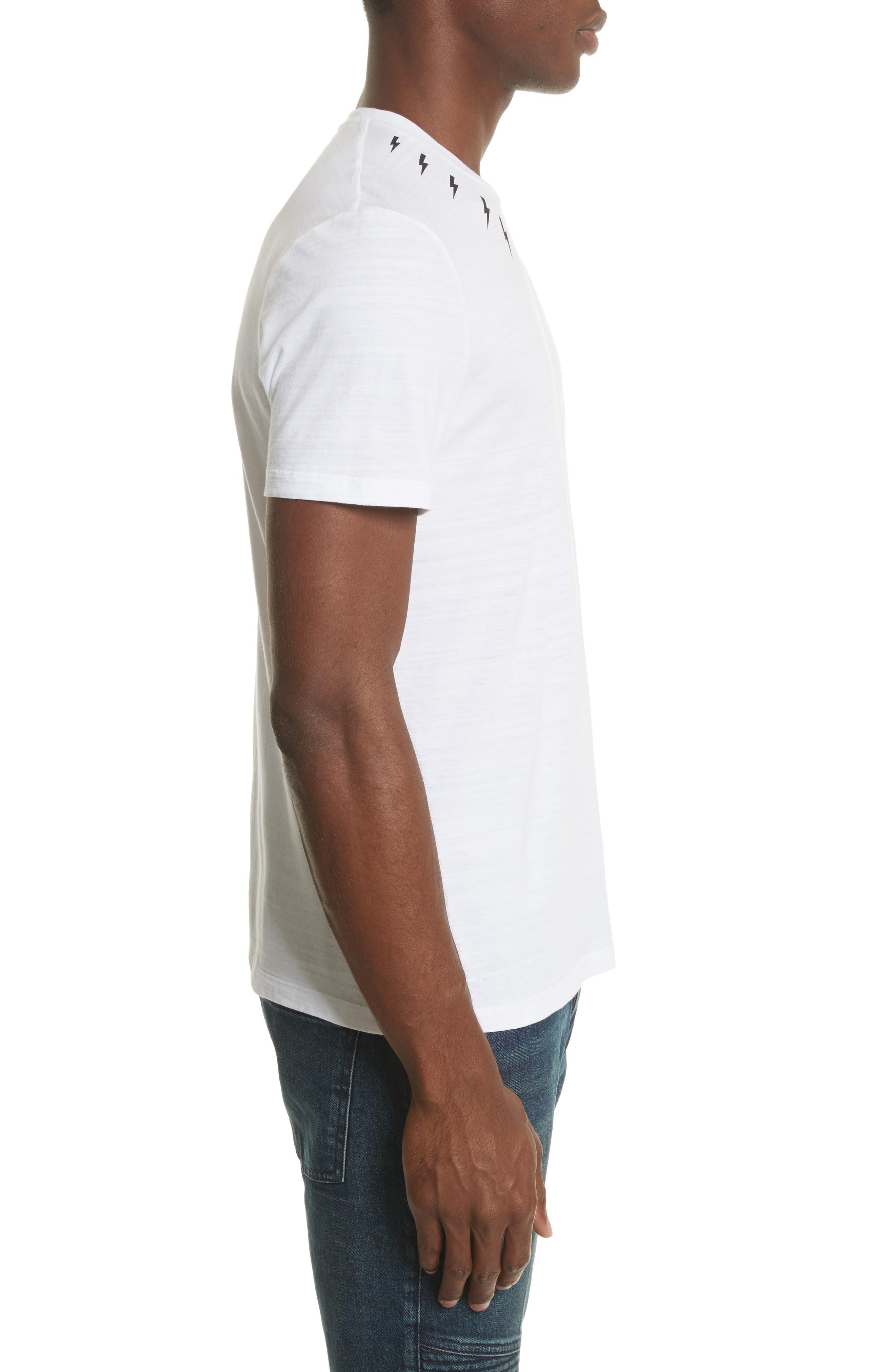 Thunderbolt Graphic T-Shirt,                             Alternate thumbnail 3, color,                             100