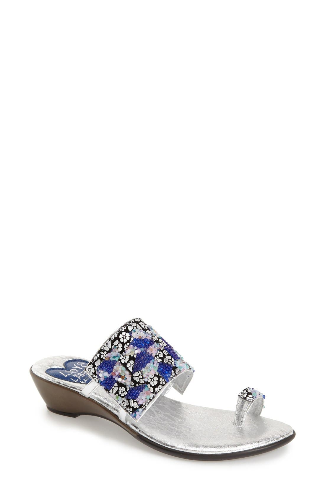 LOVE AND LIBERTY Symone Wedge Sandal, Main, color, 465
