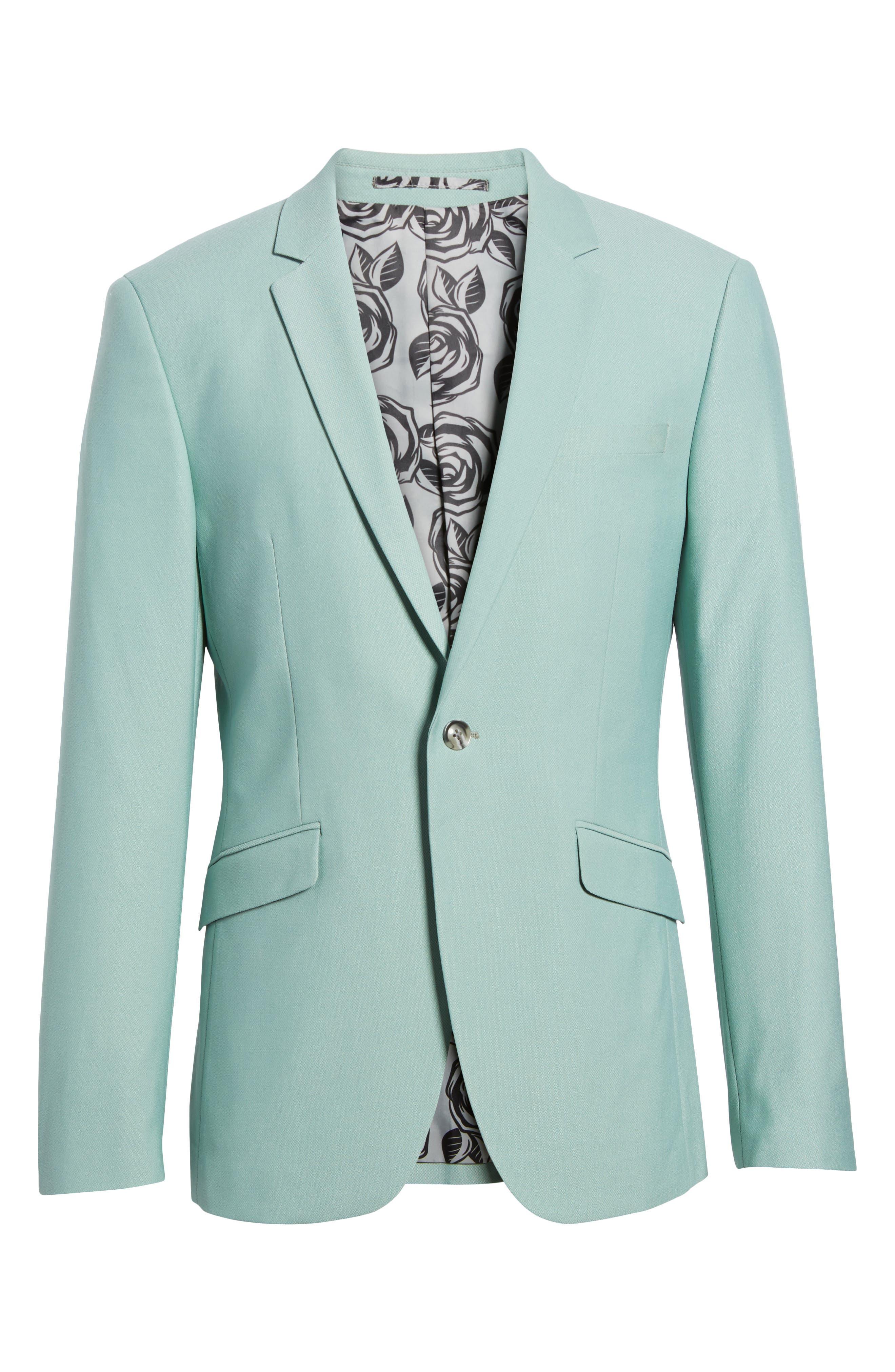 Skinny Fit Suit Jacket,                             Alternate thumbnail 5, color,                             300