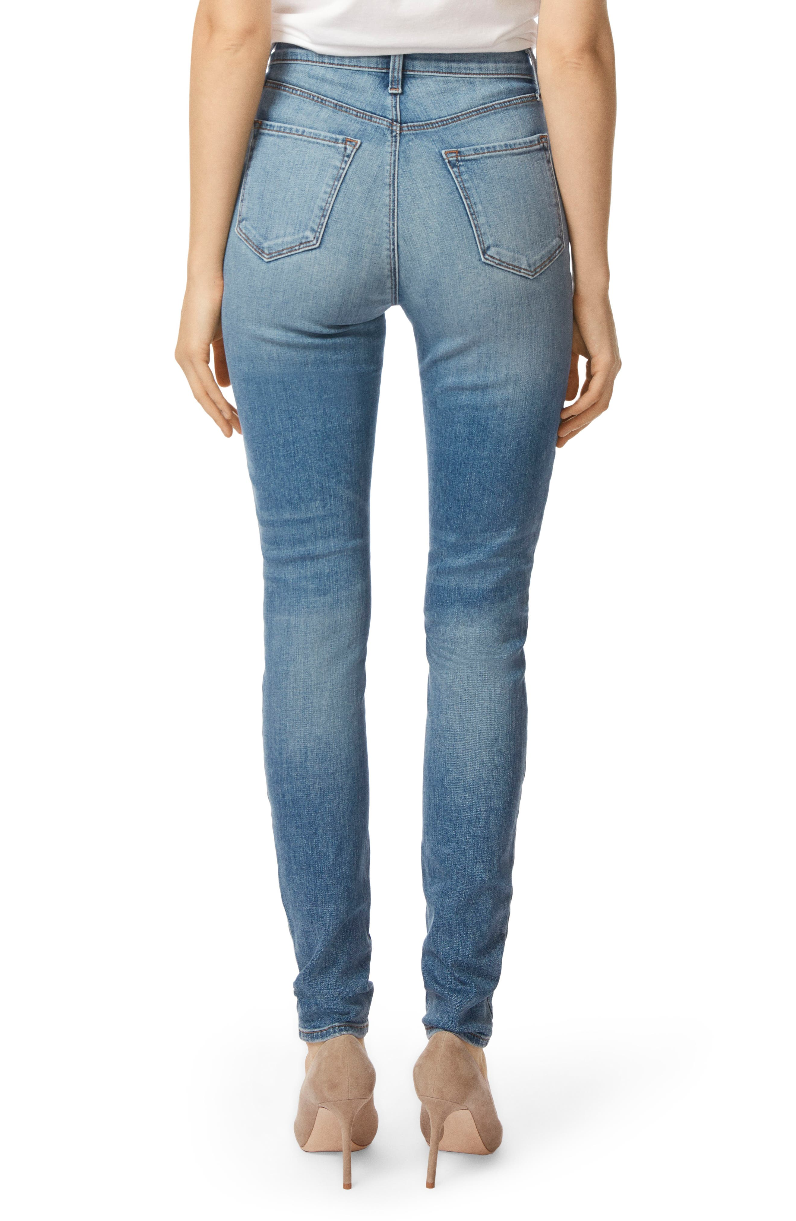 Carolina Super High Waist Skinny Jeans,                             Alternate thumbnail 2, color,                             400