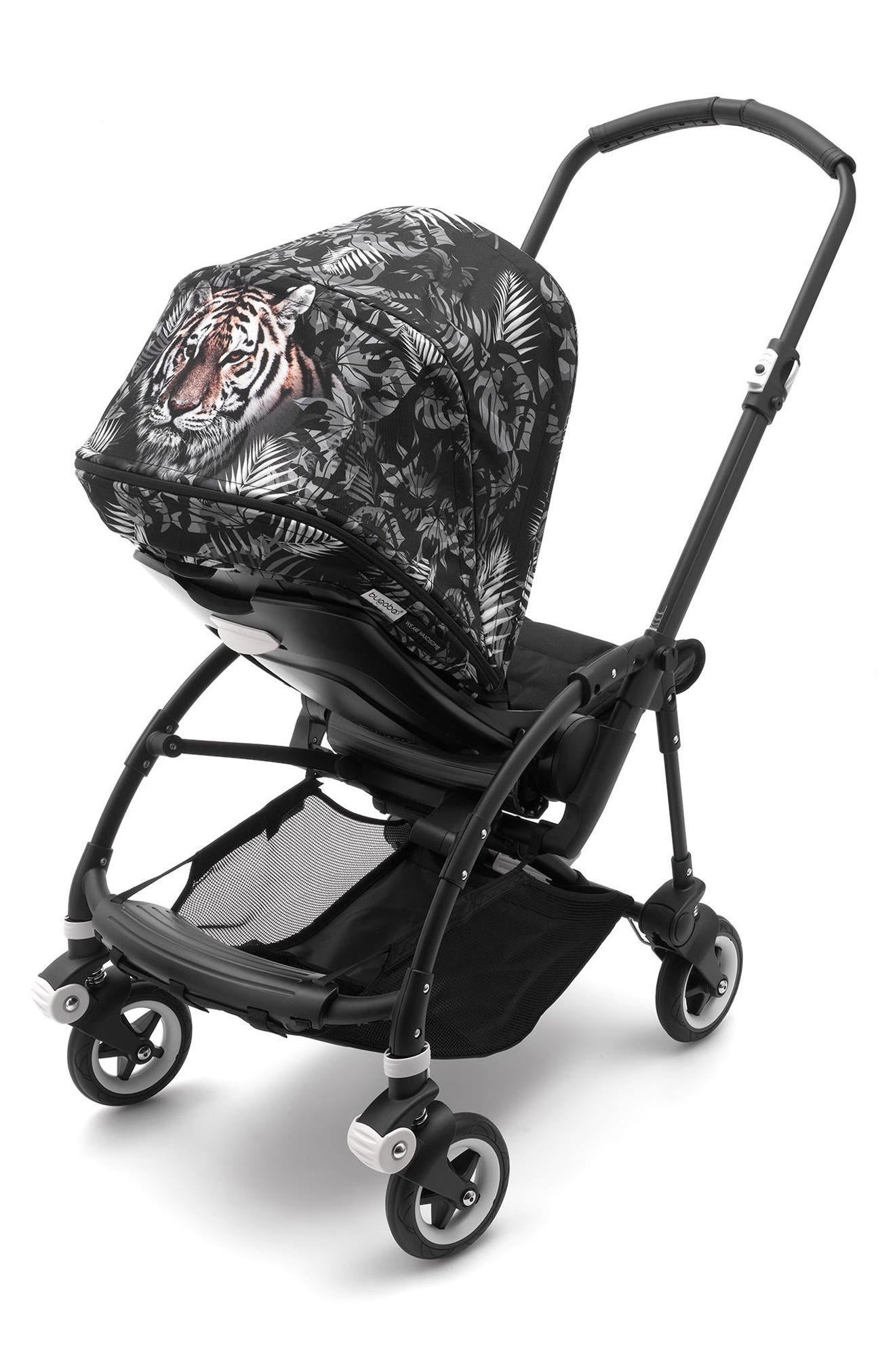 x We Are Handsome Limited Edition Sun Canopy for Bugaboo Bee Stroller,                             Alternate thumbnail 3, color,                             001