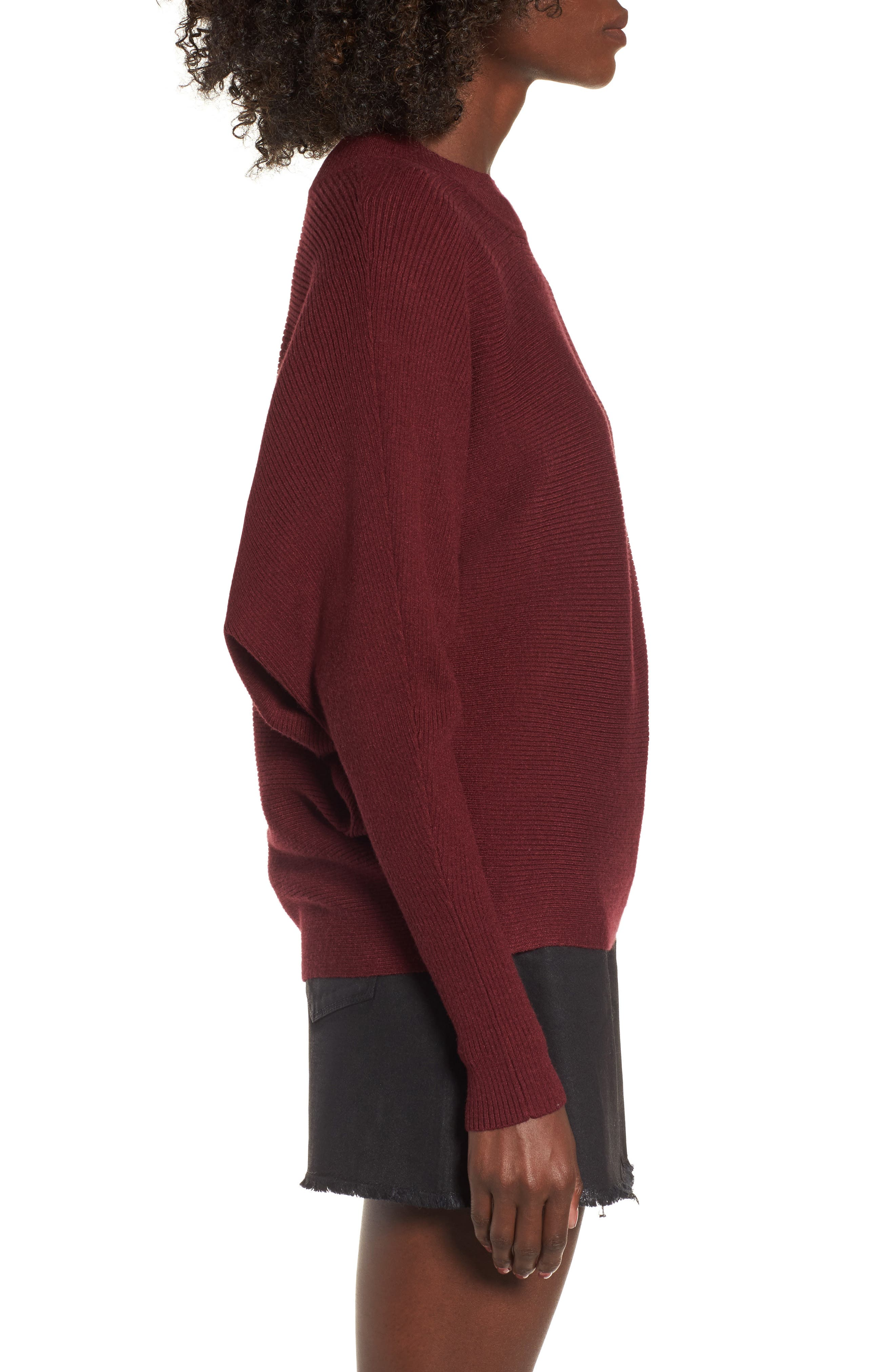 Dolman Sweater,                             Alternate thumbnail 3, color,