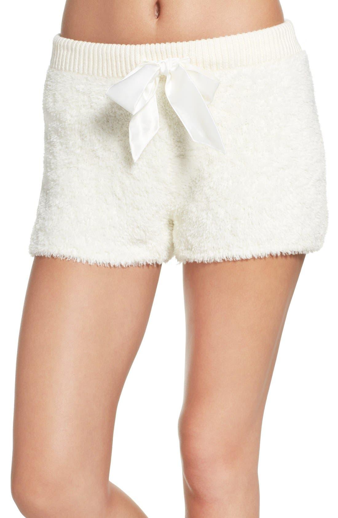 Fuzzy Lounge Shorts,                             Main thumbnail 4, color,