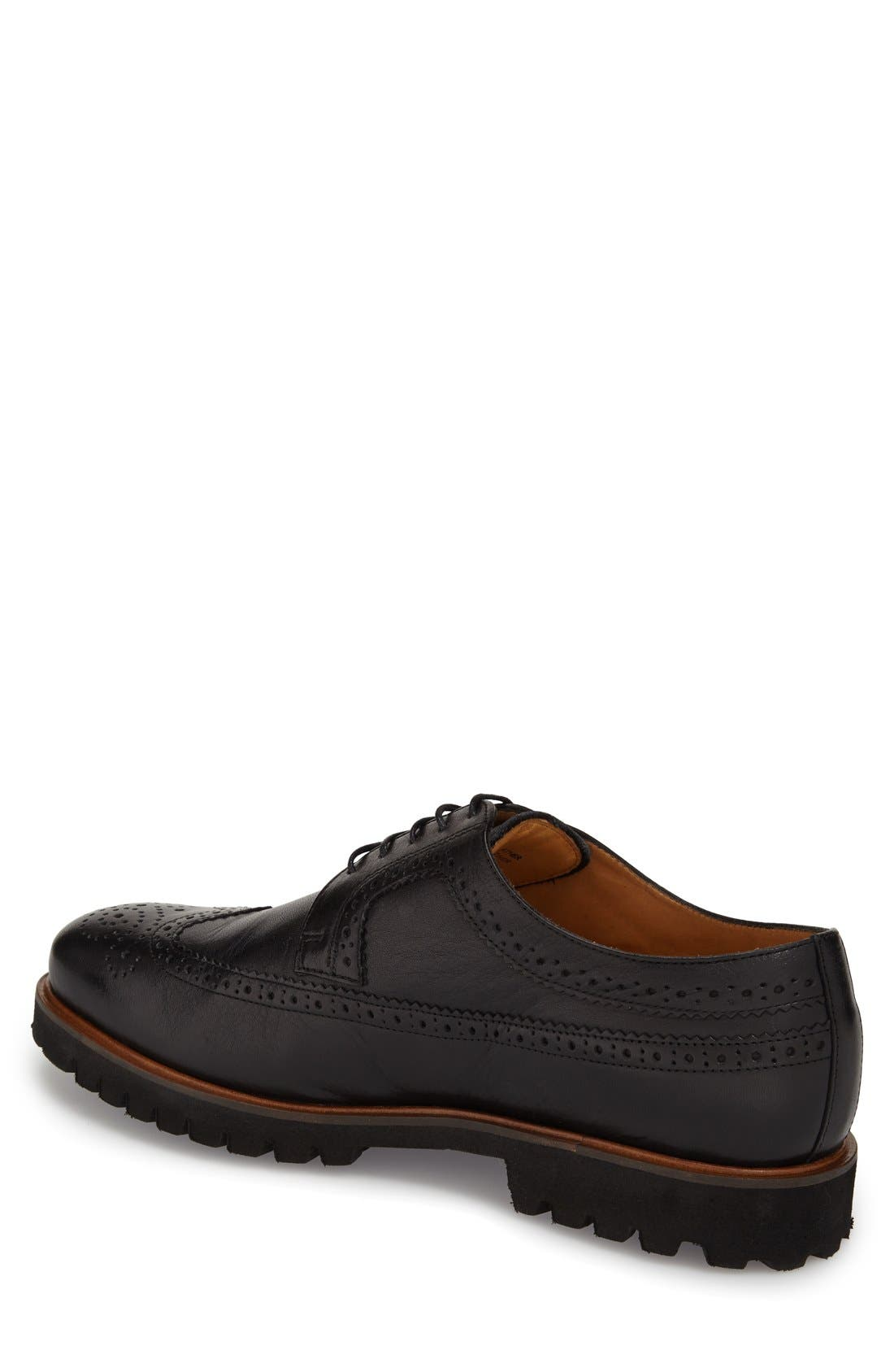 'Loven' Wingtip Derby,                             Alternate thumbnail 4, color,                             001