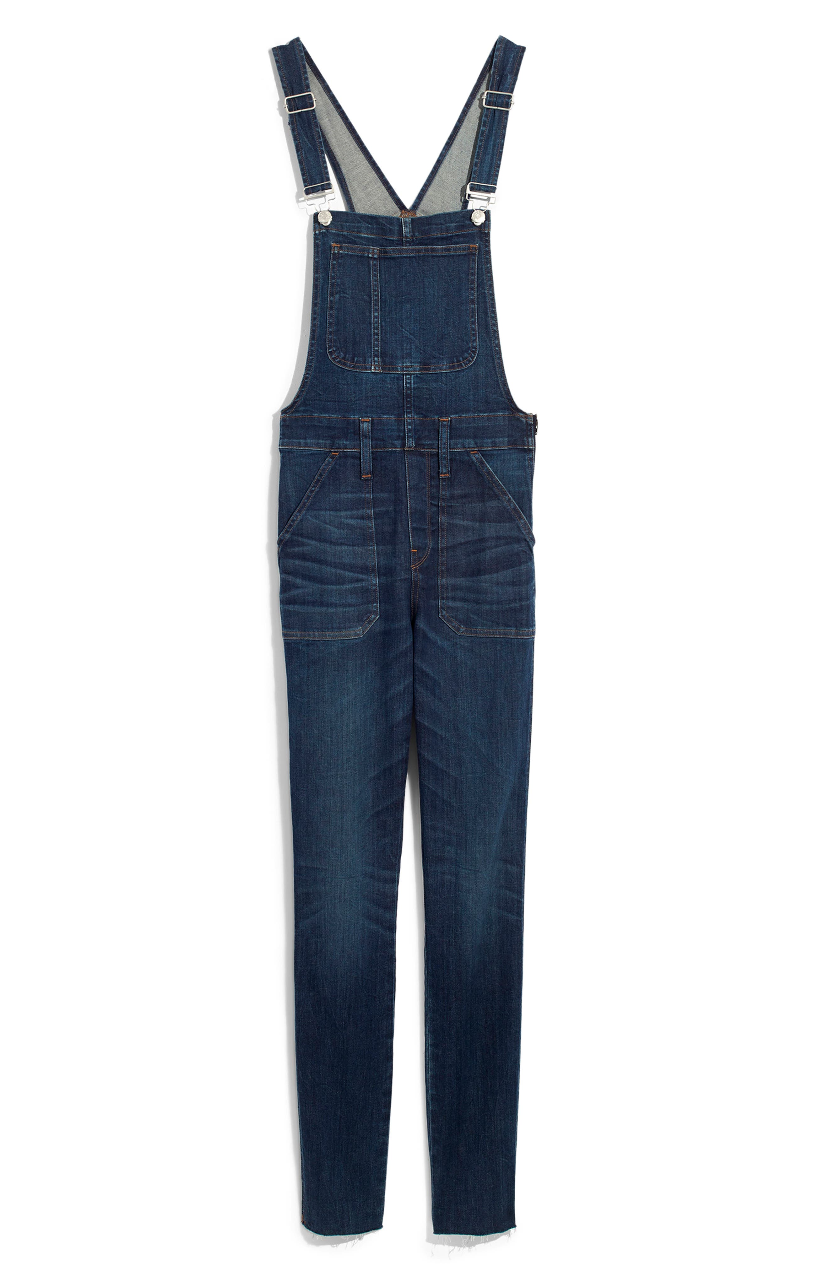 Eco Edition Skinny Overalls,                             Alternate thumbnail 5, color,                             ELMDALE