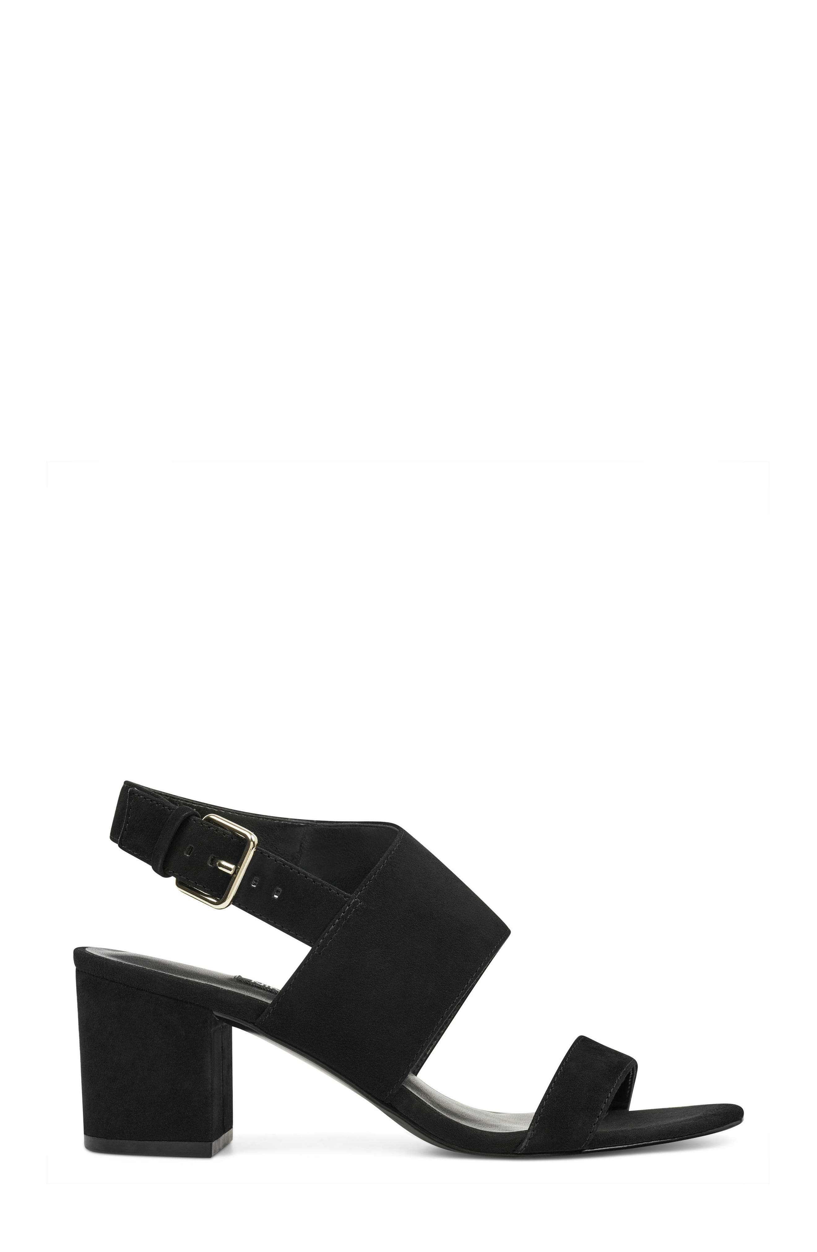 Forli Asymmetrical Sandal,                             Alternate thumbnail 3, color,                             001