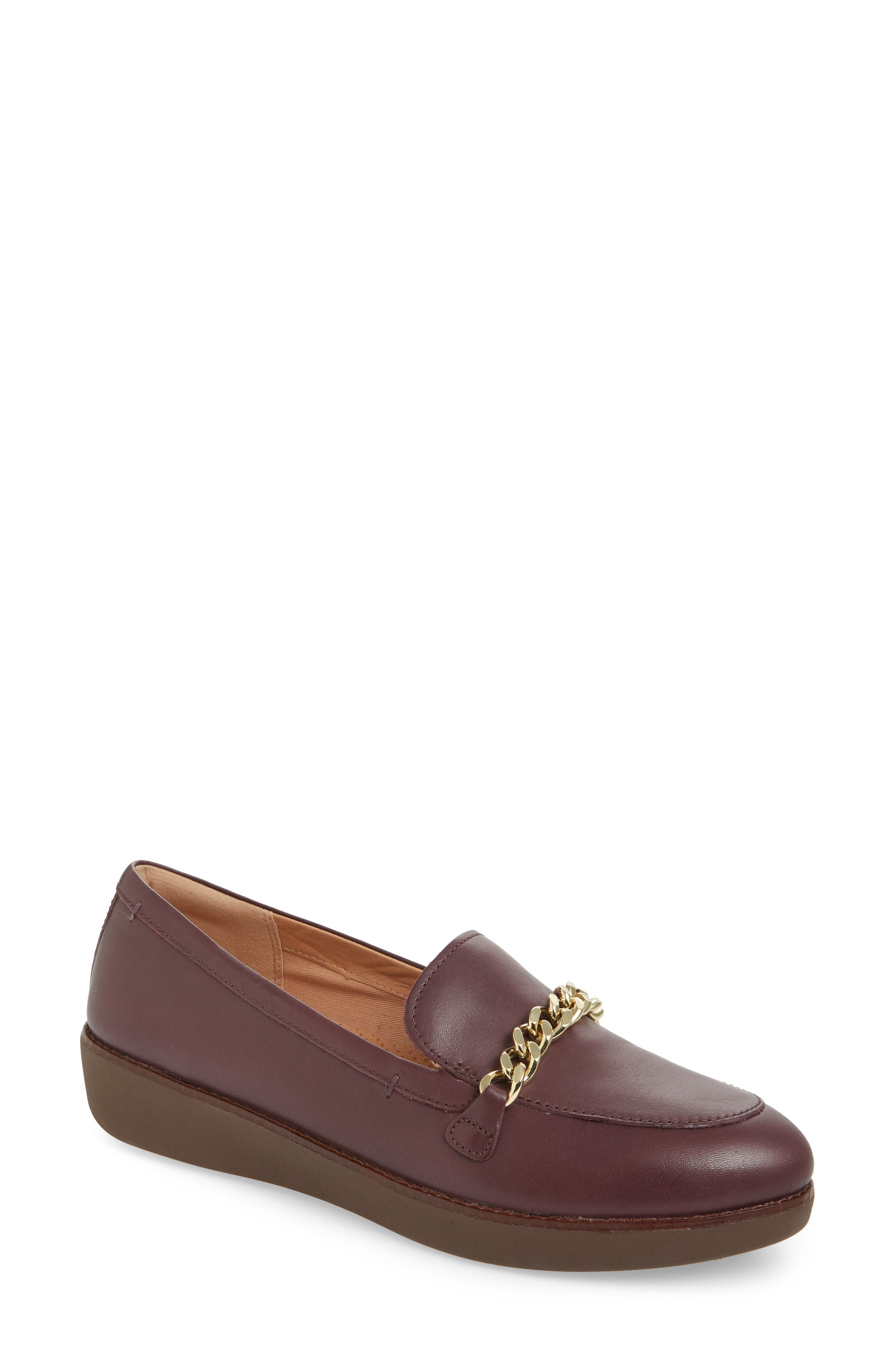 Fitflop Petrina Chain Loafer, Purple