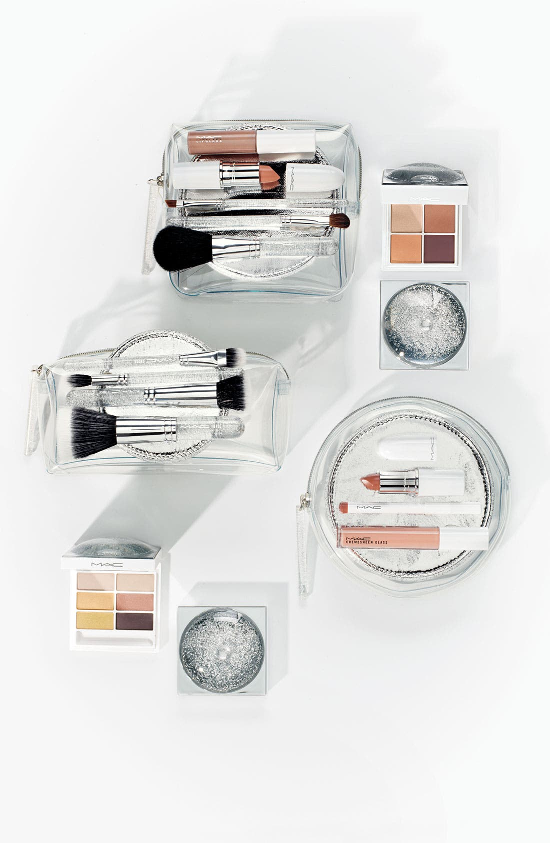 M·A·C 'Iced Delights - Sultry' Lip Bag,                             Main thumbnail 1, color,                             000