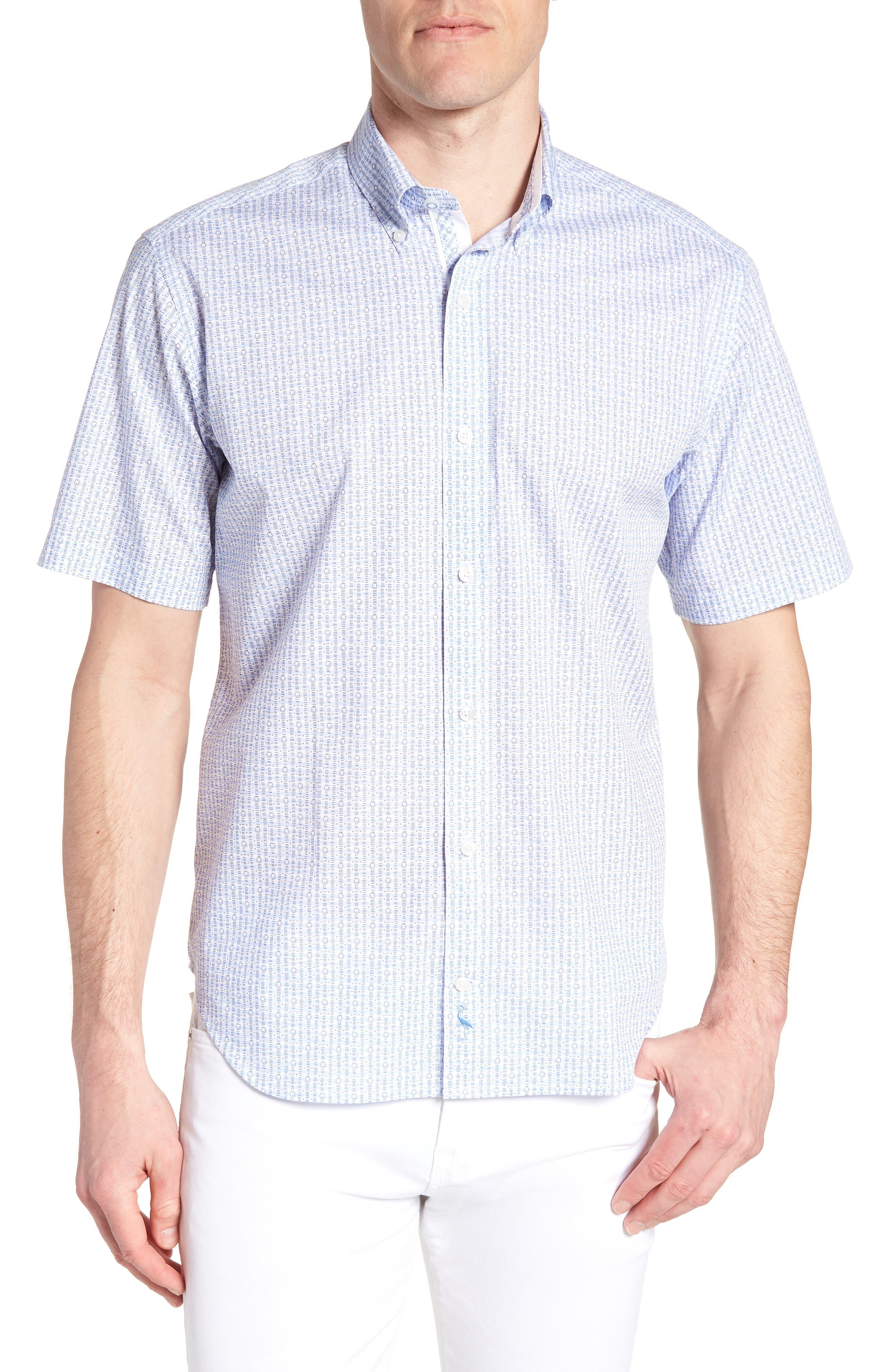 Arnie Regular Fit Sport Shirt,                             Main thumbnail 1, color,                             450