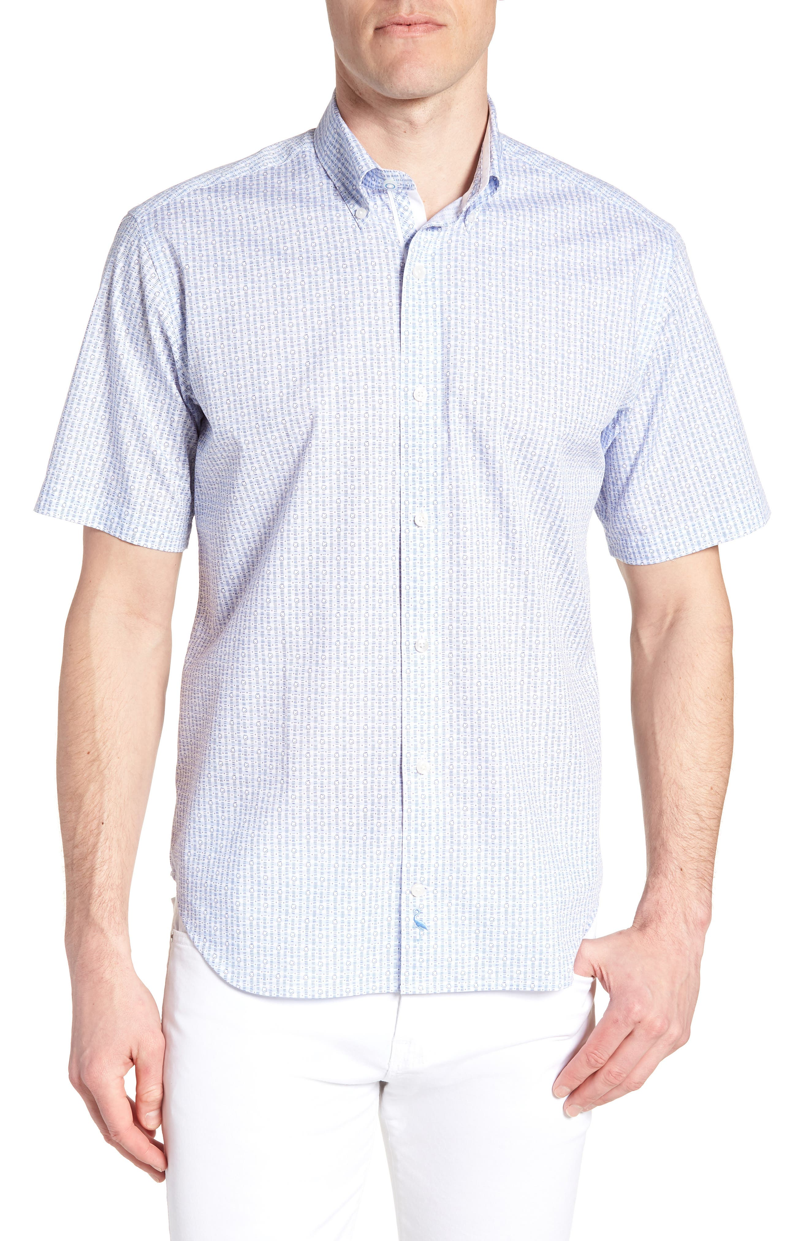 Arnie Regular Fit Sport Shirt,                         Main,                         color, 450