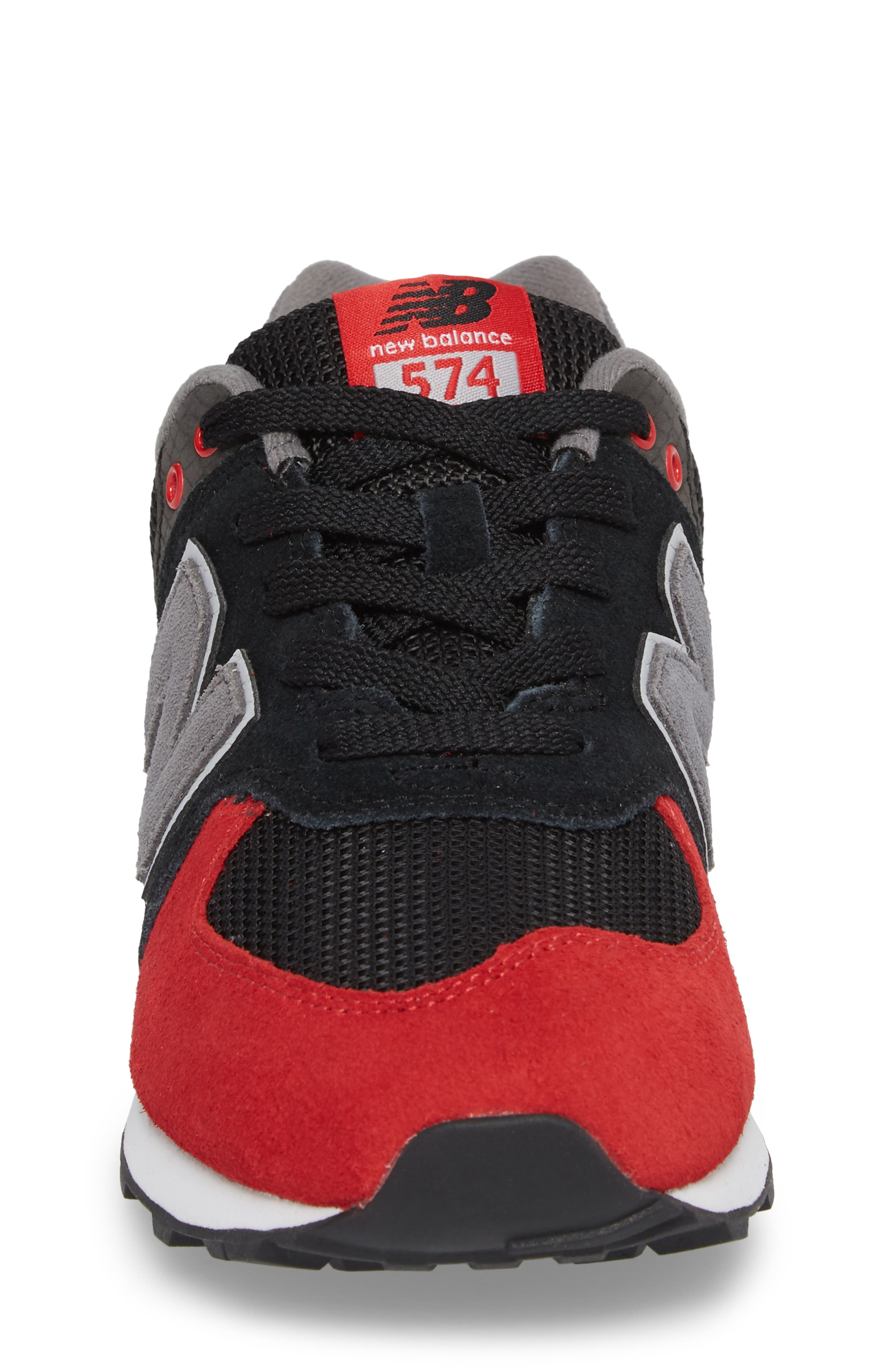 574 Serpent Luxe Sneaker,                             Alternate thumbnail 4, color,                             009