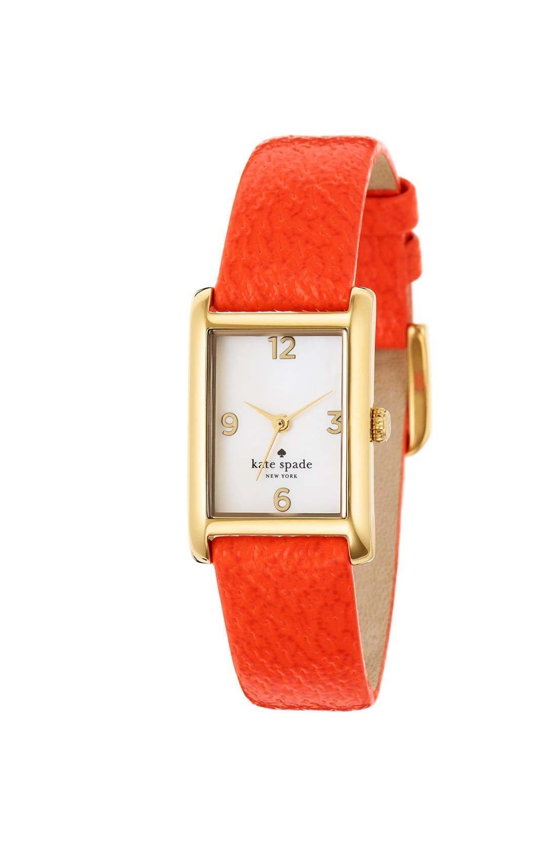 'cooper' leather strap watch, 21mm x 32mm,                             Alternate thumbnail 18, color,