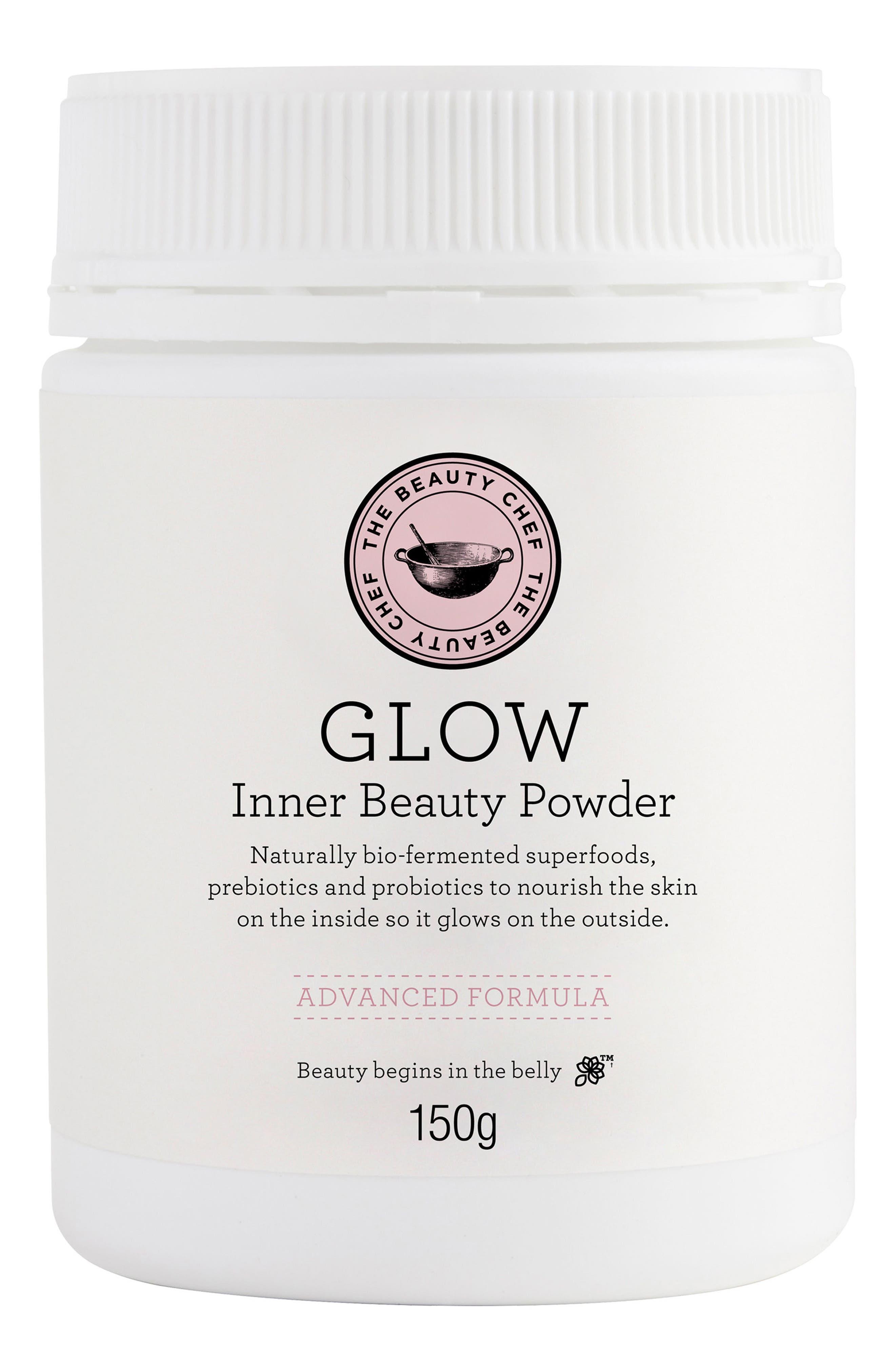 THE BEAUTY CHEF,                             Glow Advanced Formula Inner Beauty Powder,                             Main thumbnail 1, color,                             NONE