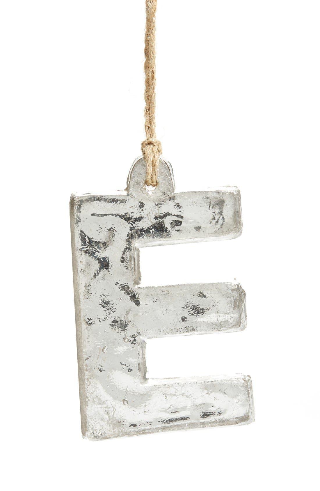 Handblown Glass Alphabet Ornament,                             Main thumbnail 20, color,
