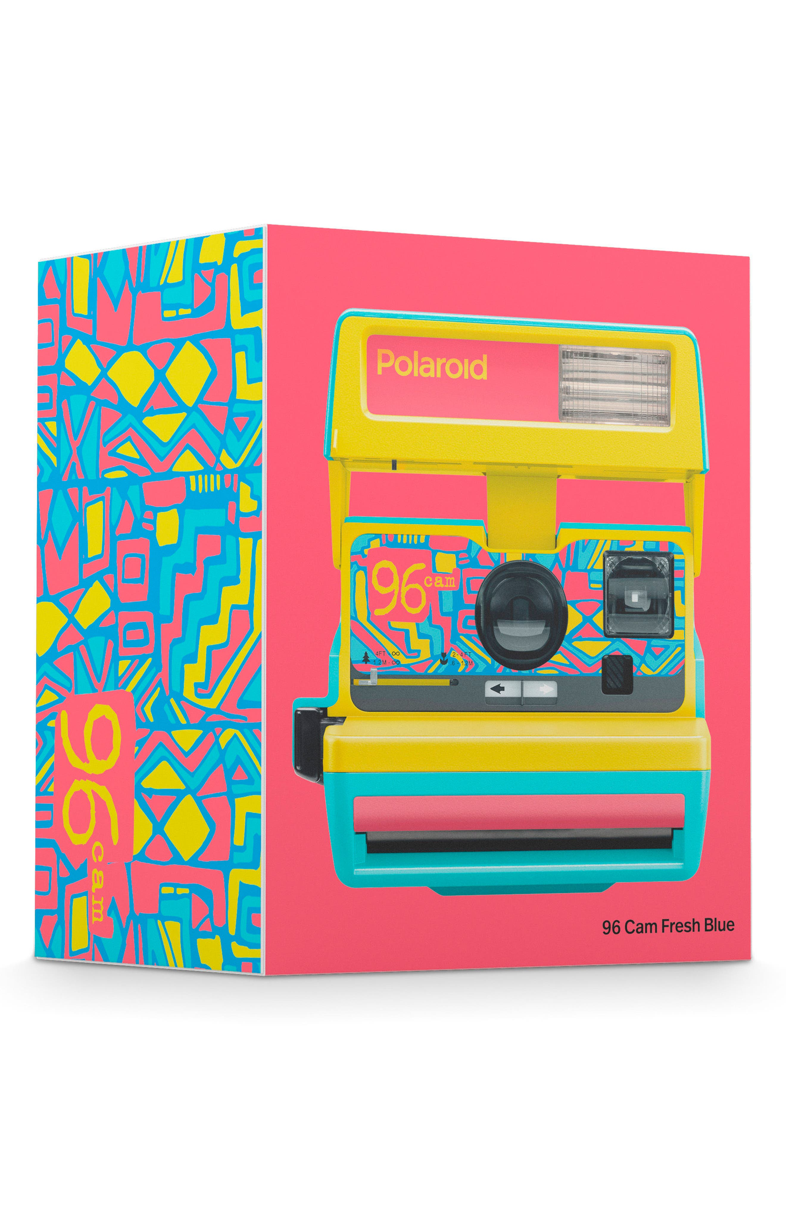Impossible Project Polaroid 600 96 Cam Instant Camera,                             Alternate thumbnail 4, color,                             BLUE