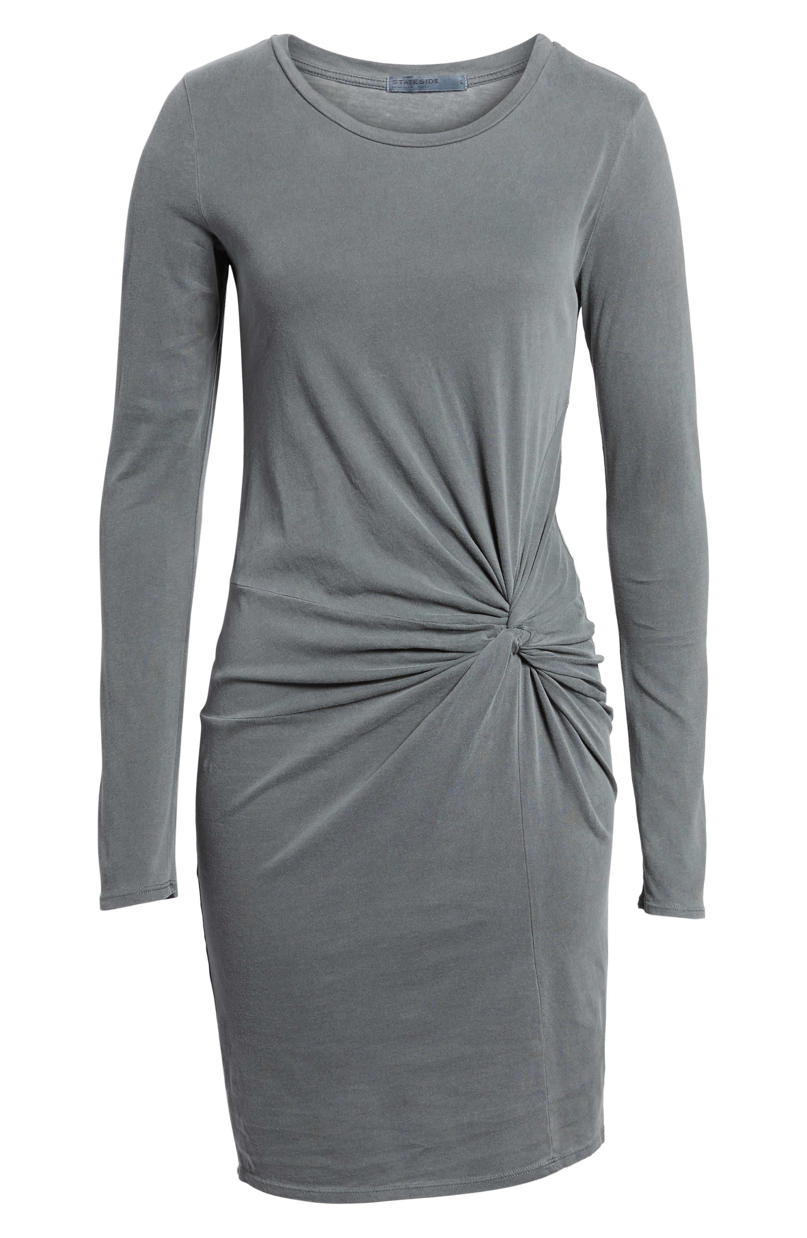 Twist Dress,                             Alternate thumbnail 6, color,                             020