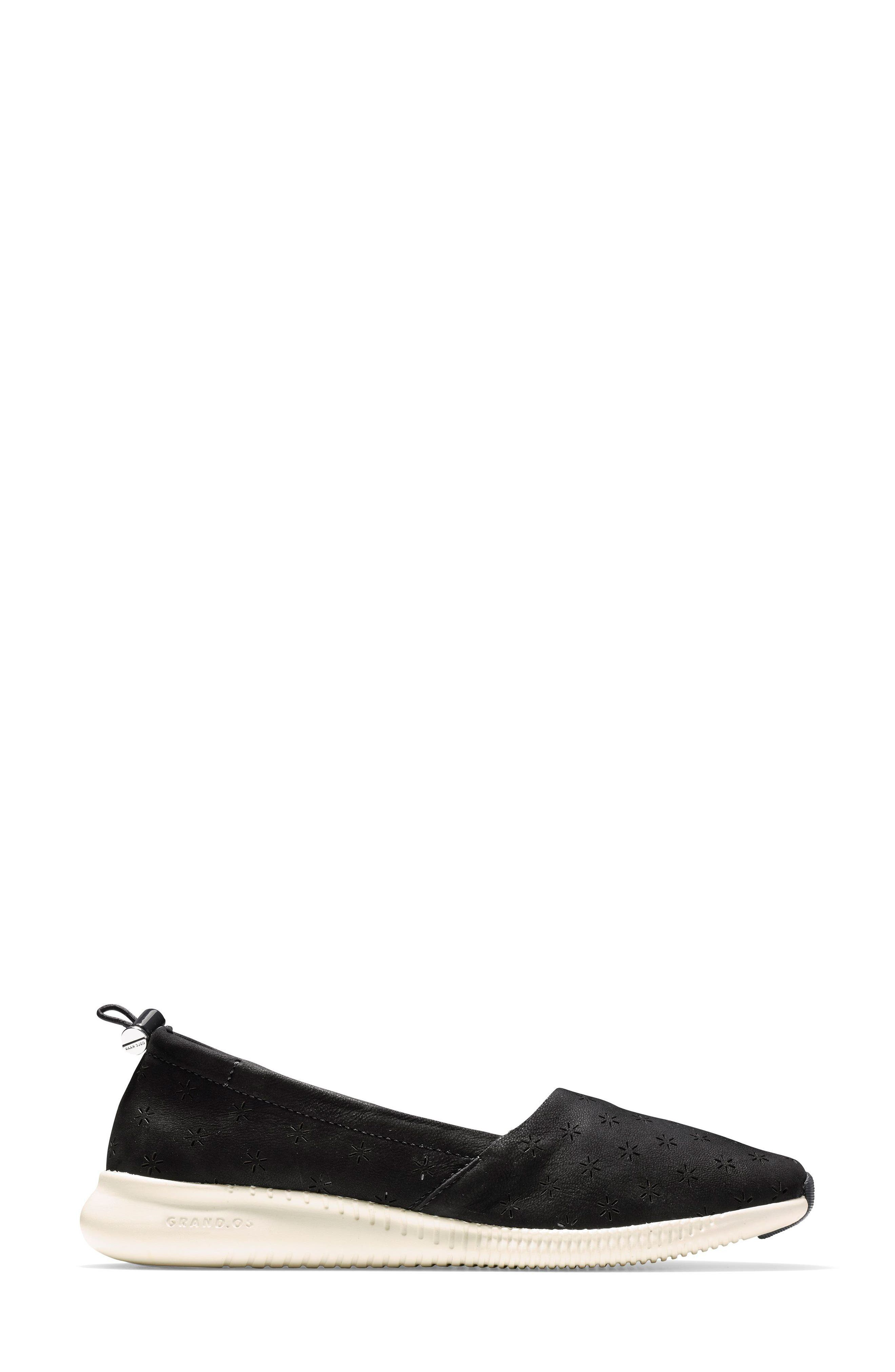 Studiogrand Perforated Slip-on,                             Alternate thumbnail 3, color,                             001