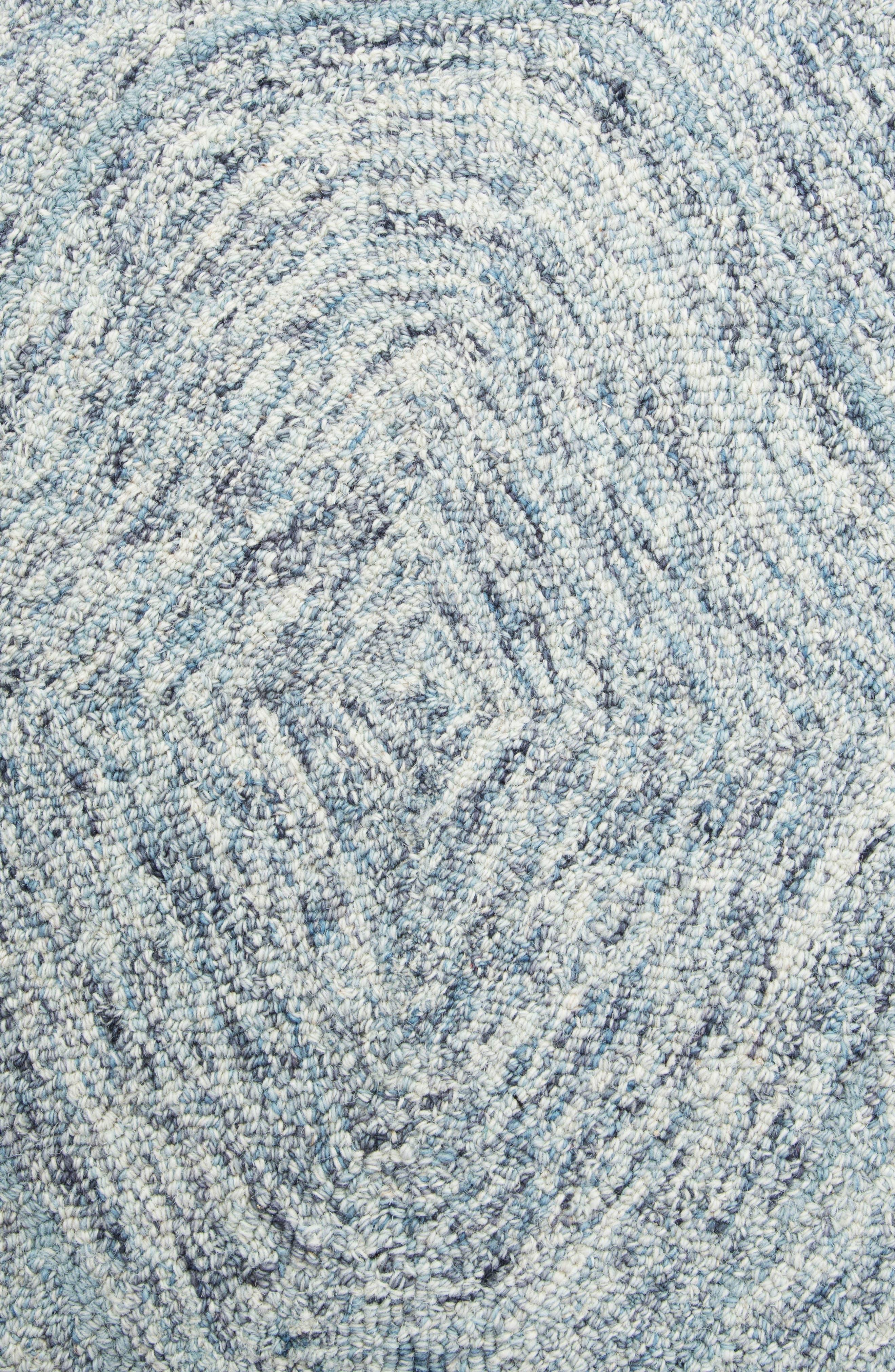 Irregular Diamond Hand Tufted Wool Area Rug,                             Alternate thumbnail 15, color,
